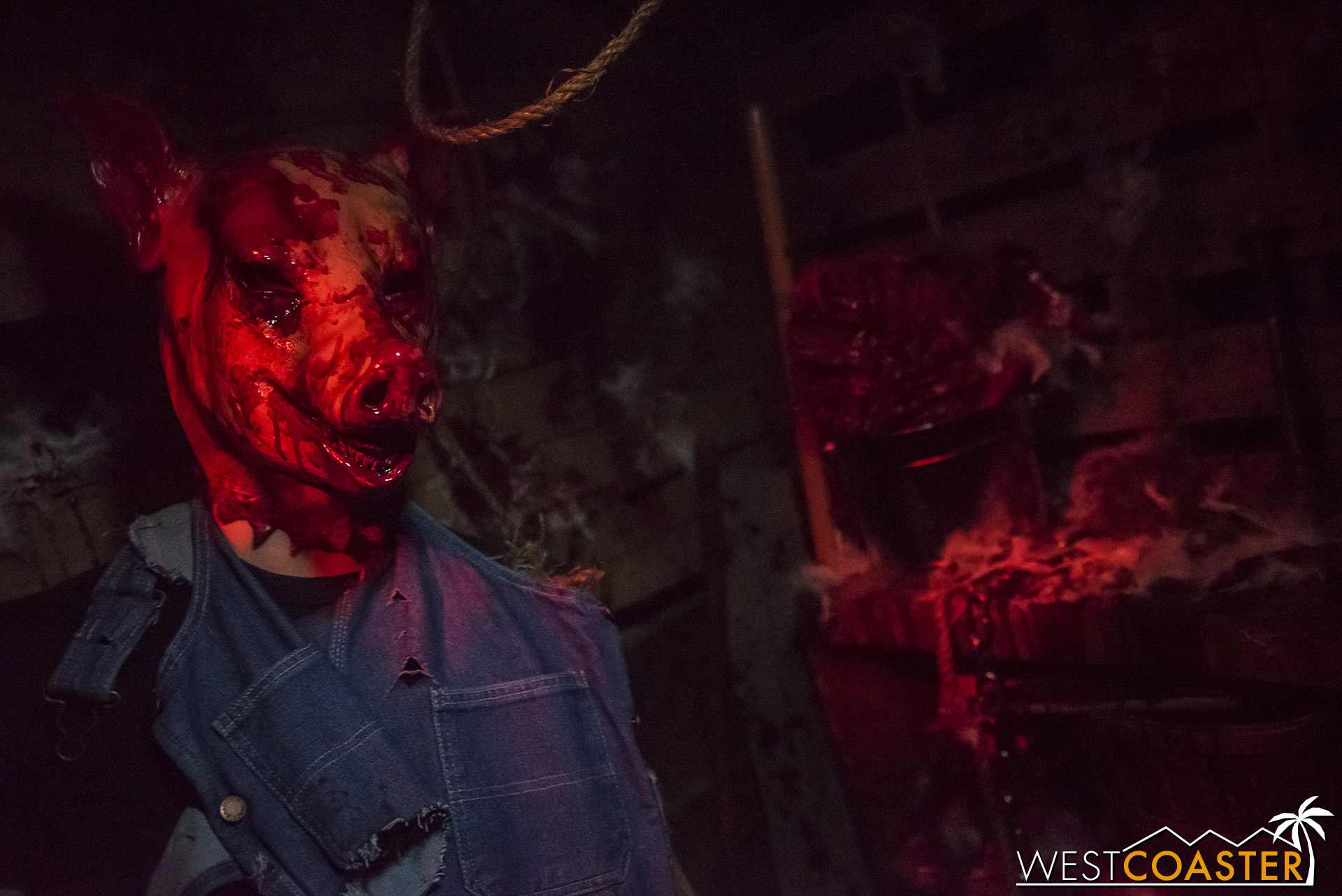 There is plenty of blood but little outright gore in this year's MHP haunted house.