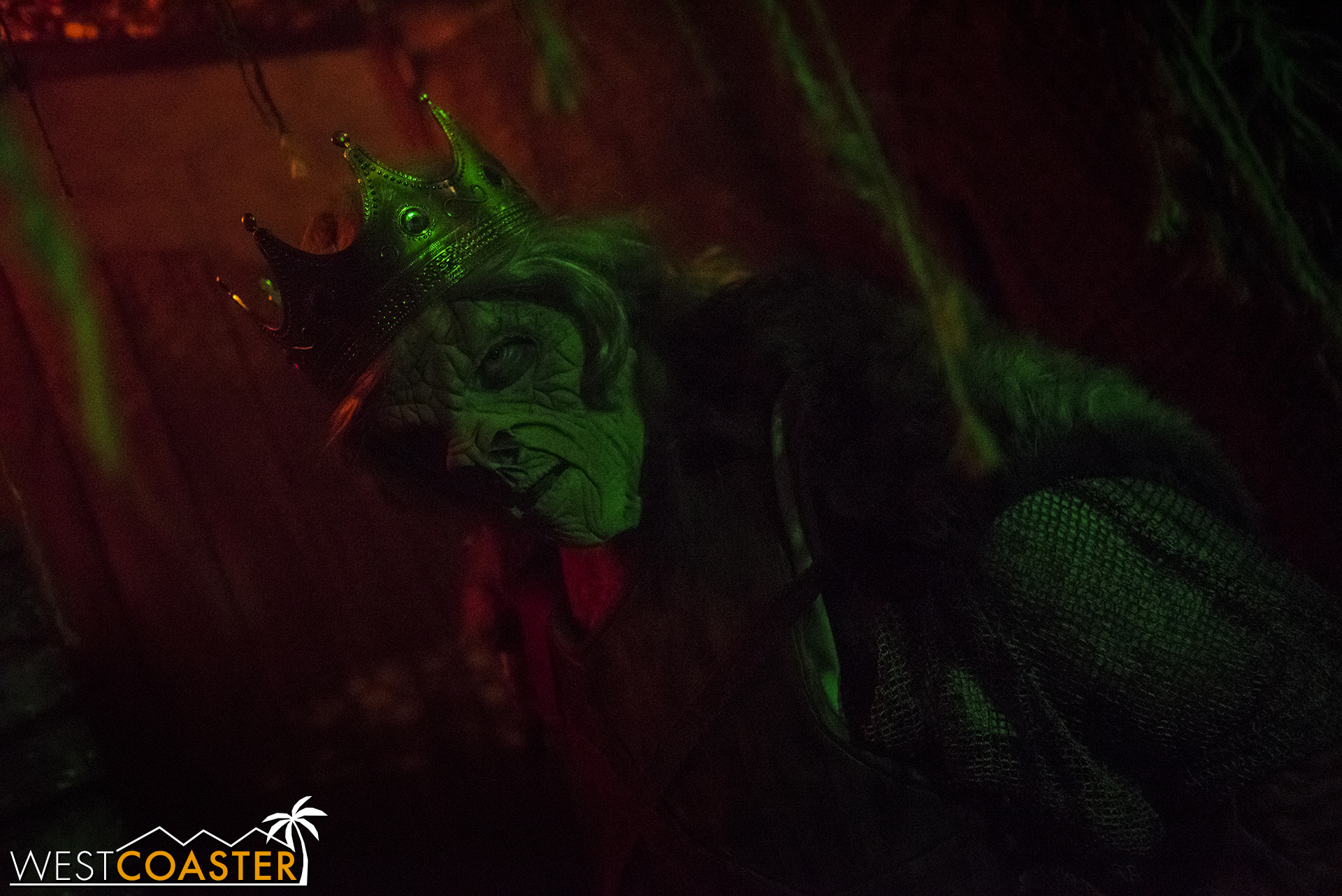 The king welcomes you to the Dark Realm. Just look out for the dragon.