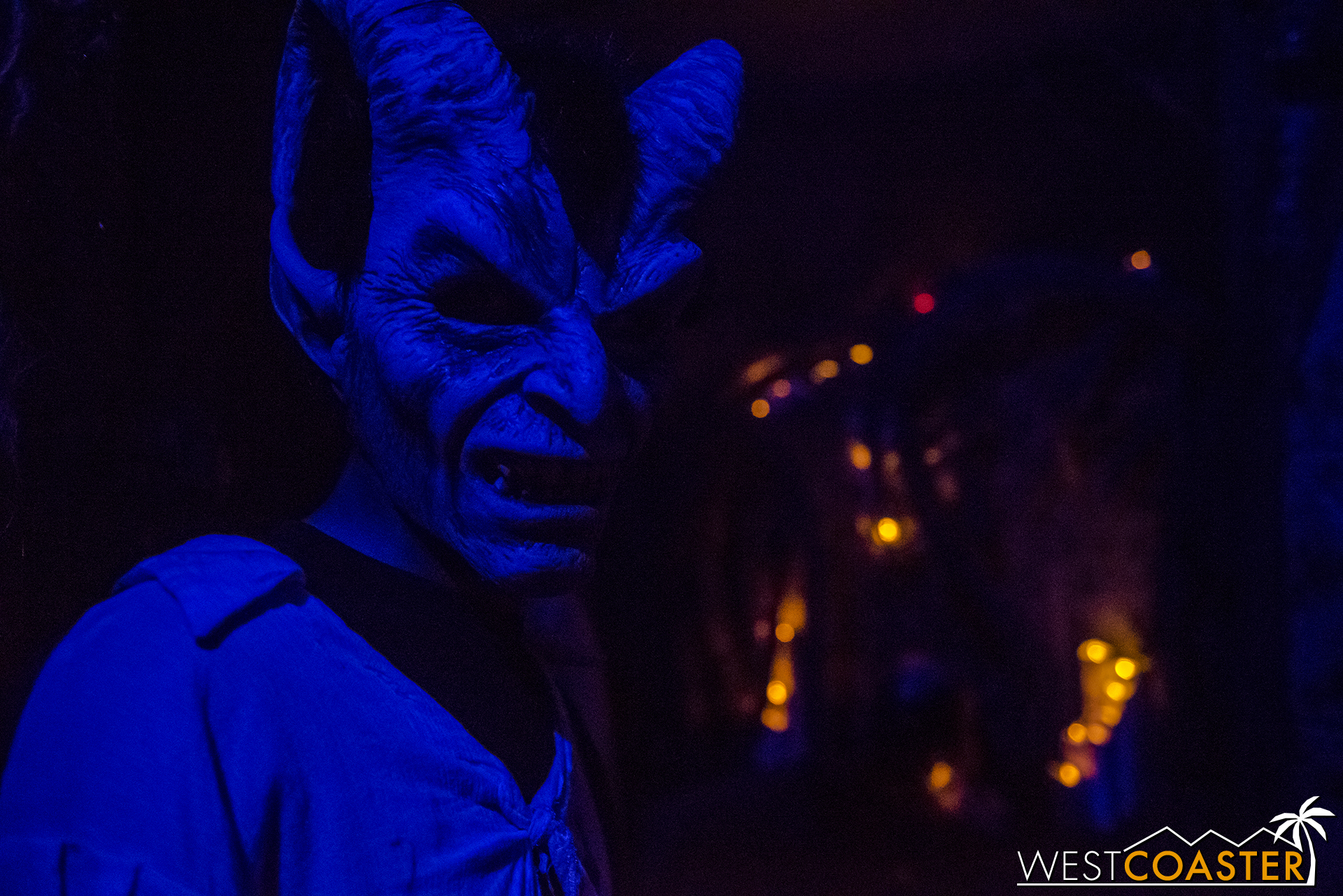 The Dark Realm gets darker as guests head indoors.