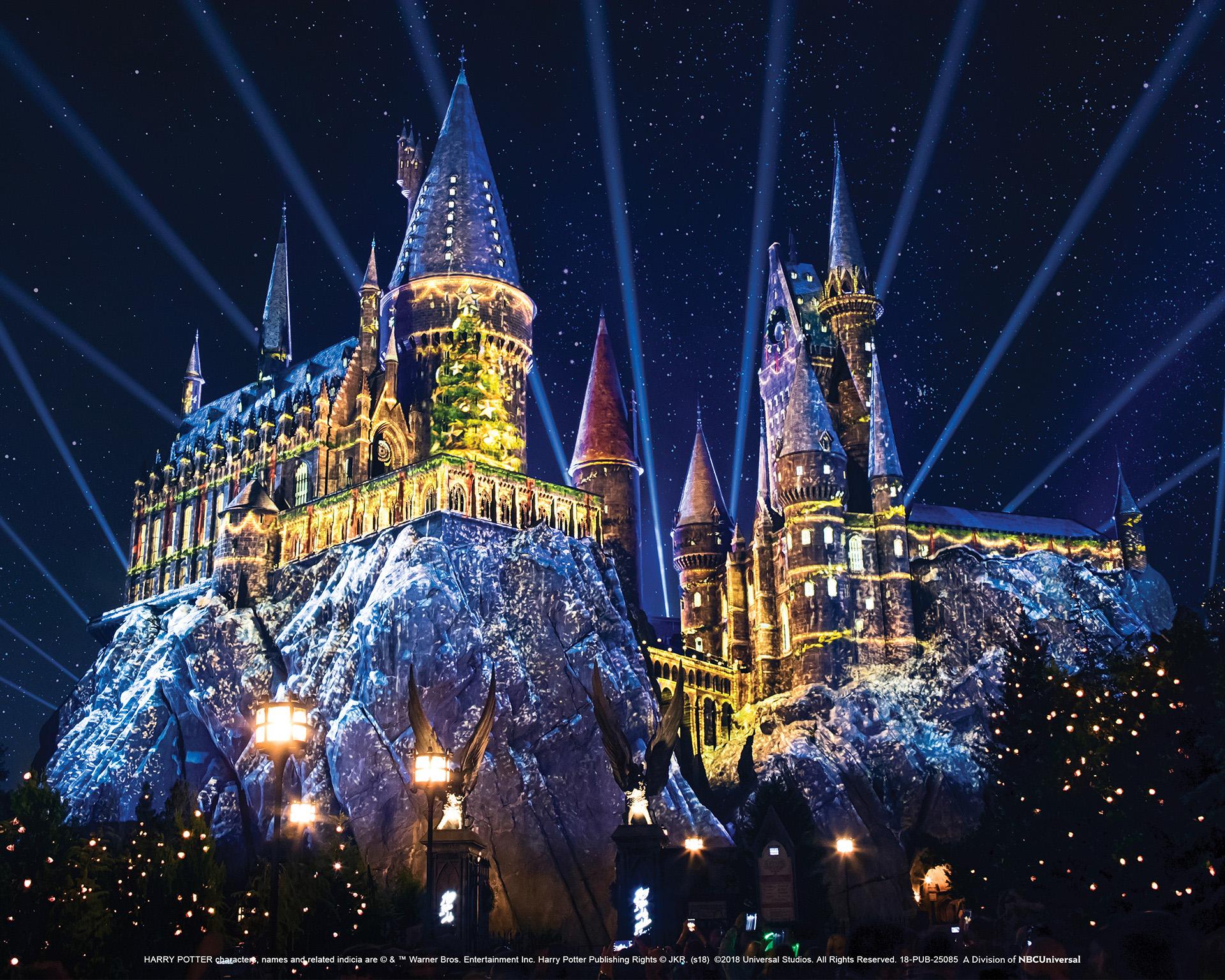 Harry Potter Christmas Ornaments Universal Studios.Universal Studios Hollywood Announces 2018 Holiday Season