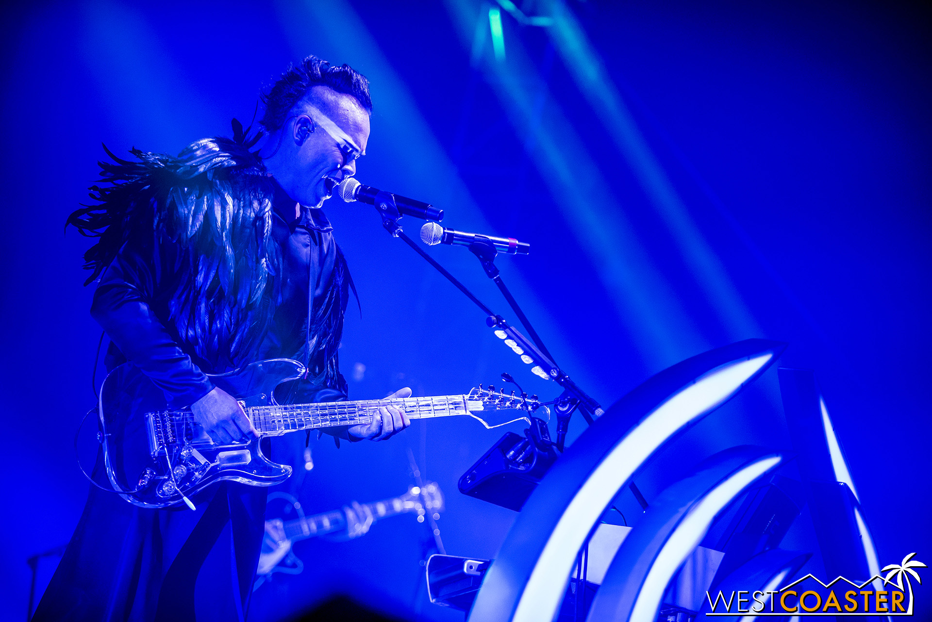 Empire of the Sun covered a broad setlist spanning all of their hits.
