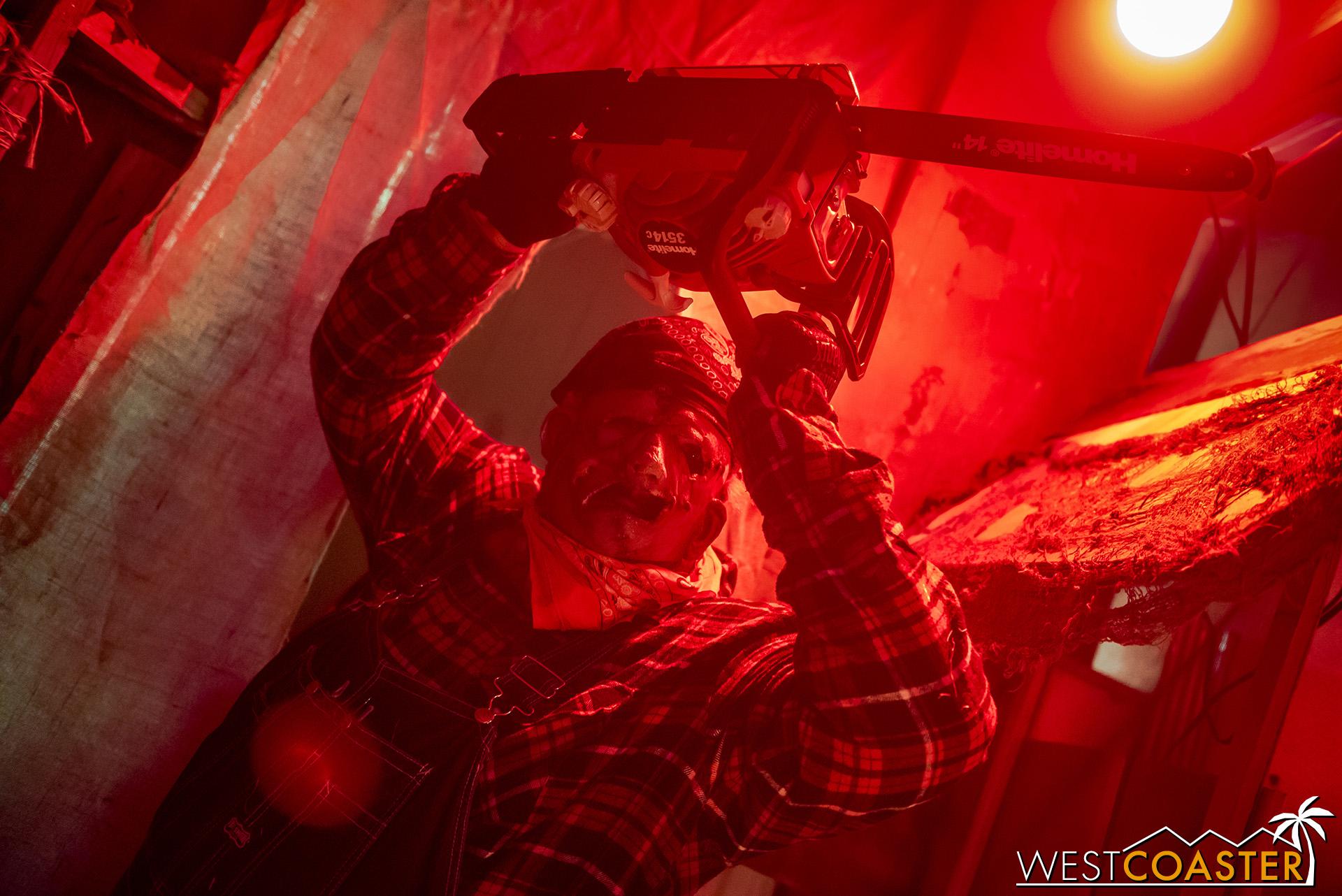 Chainsaws? Yep, Twisted Dreams has 'em!