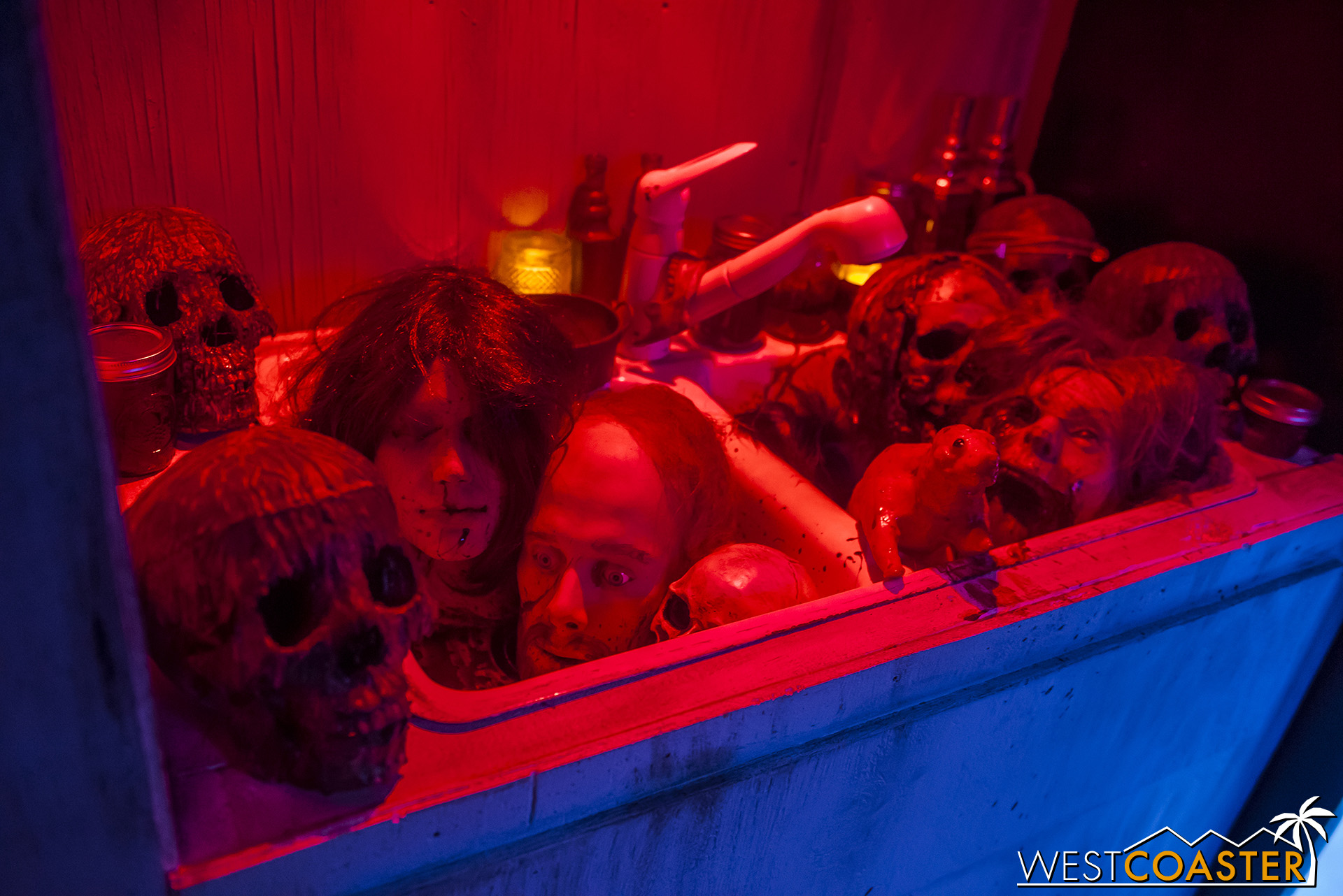 So can way more severed heads in a sink!