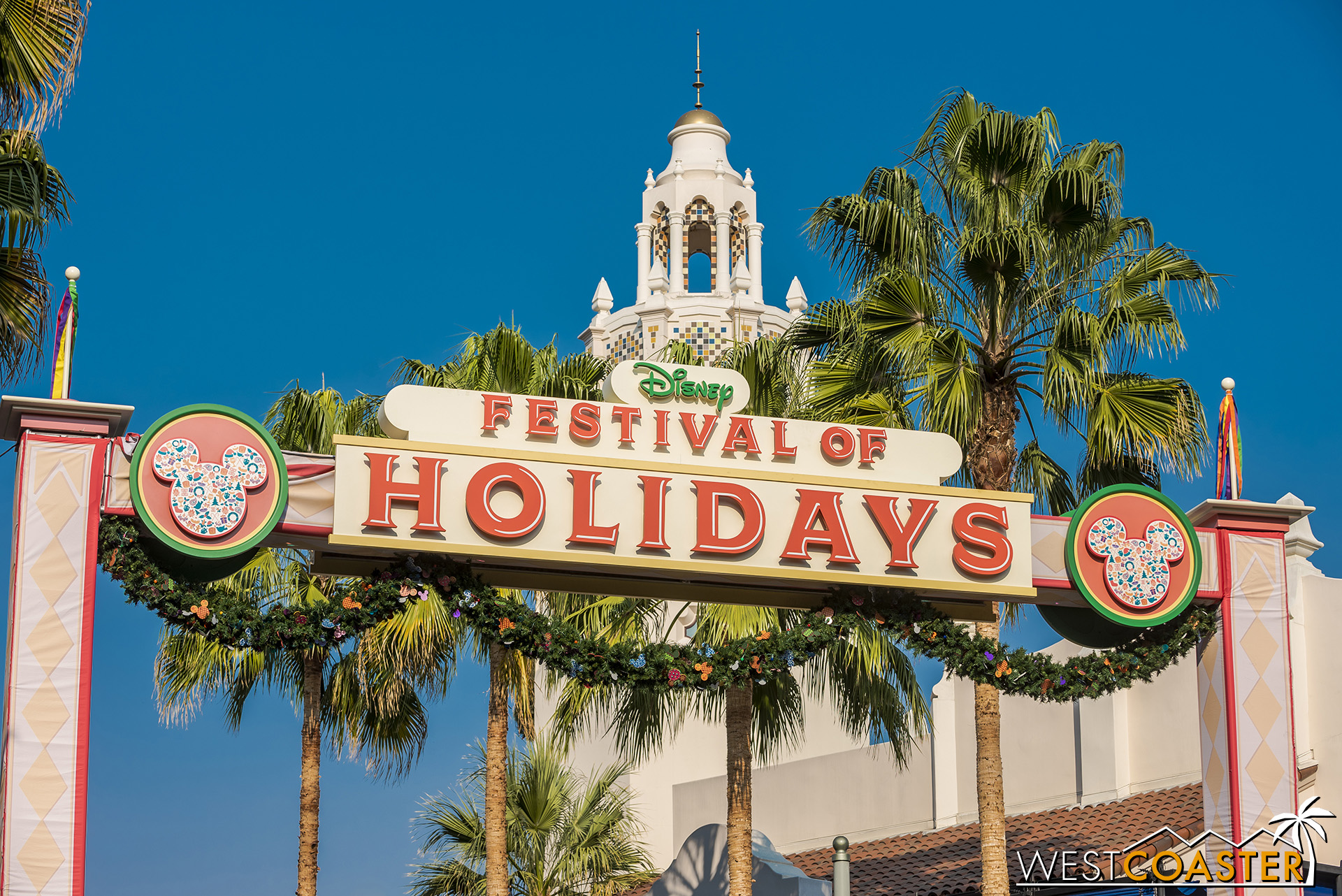 The Festival of Holidays is back along the Parade Corridor between Buena Vista Street and Pacific Wharf and Paradise Park.