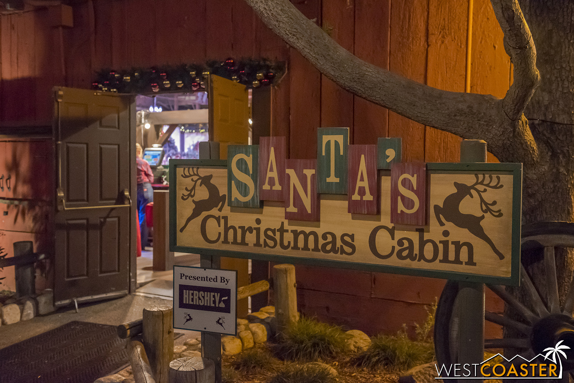 Santa's Christmas Cabin is back and full of sweets and treats.