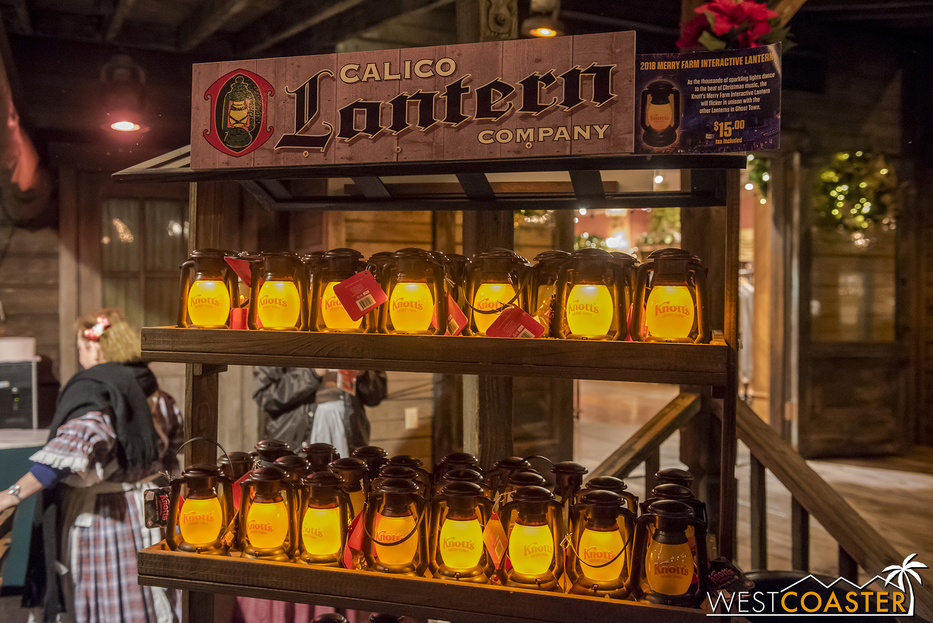Get a Calico interactive lantern!  It is supposed to work with Snow and Glow, and… maybe other things?