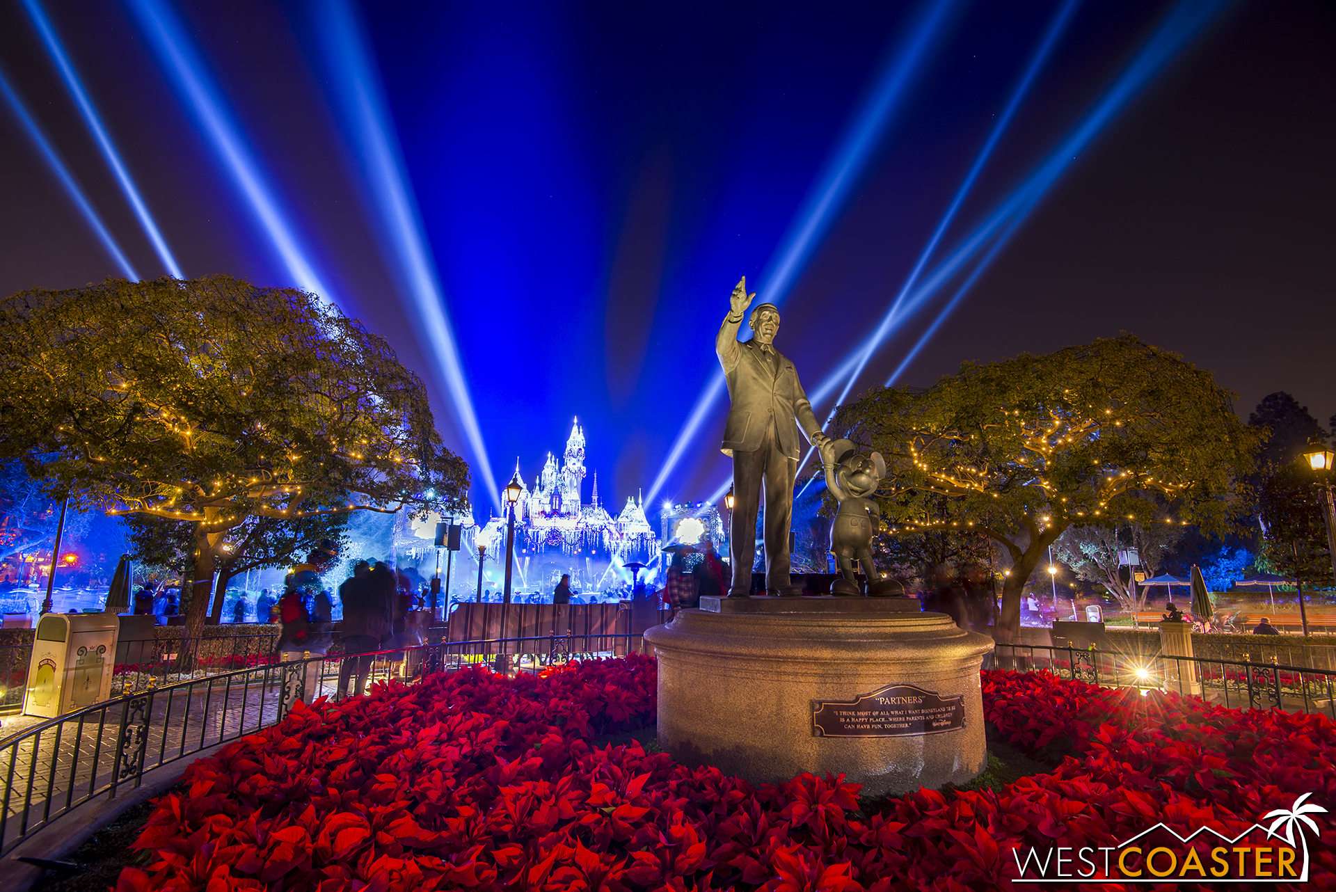 New Year's Eve is the only night of the year when Disneyland is open past midnight.