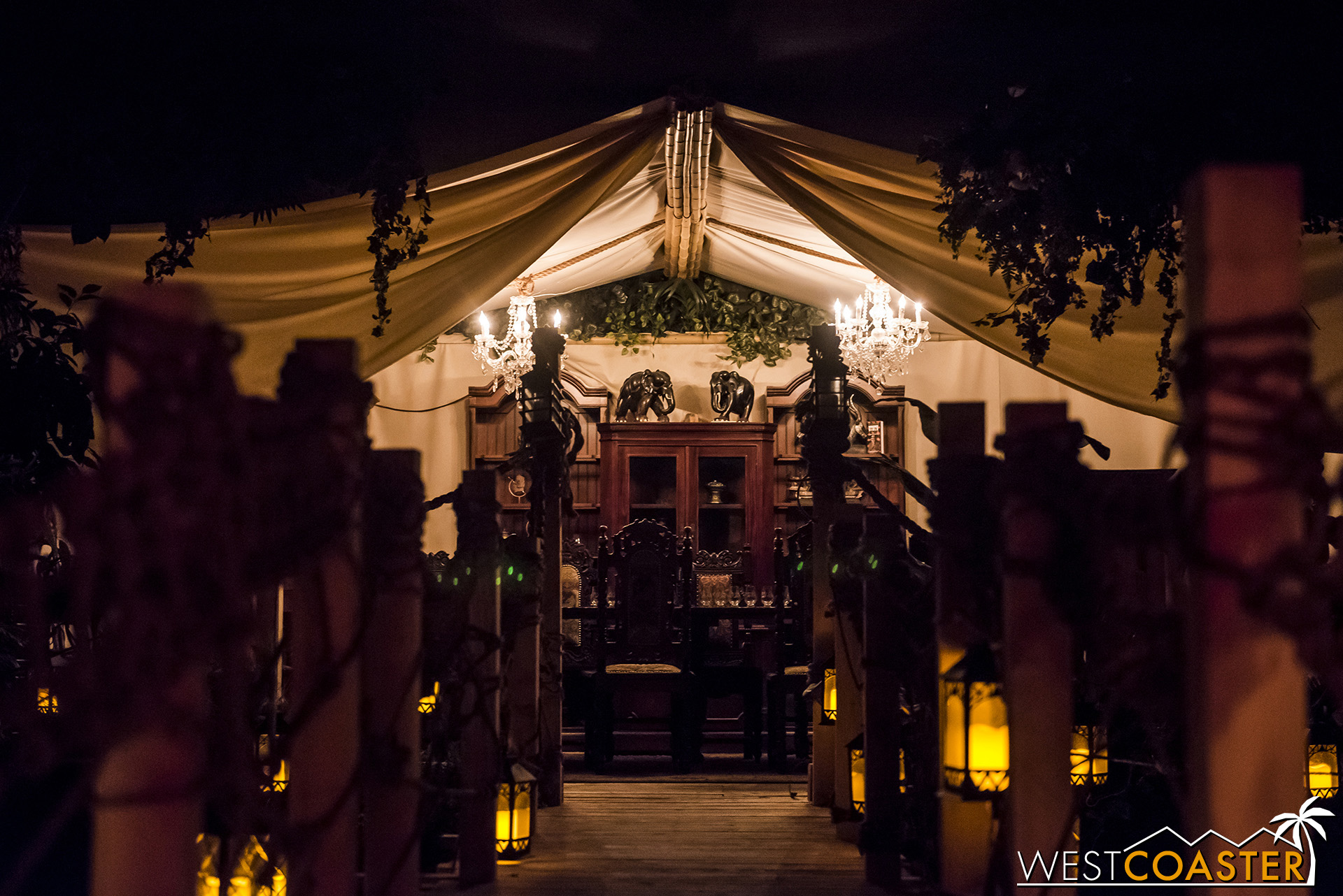 Graze into the domain of Moreau-inspired tent.
