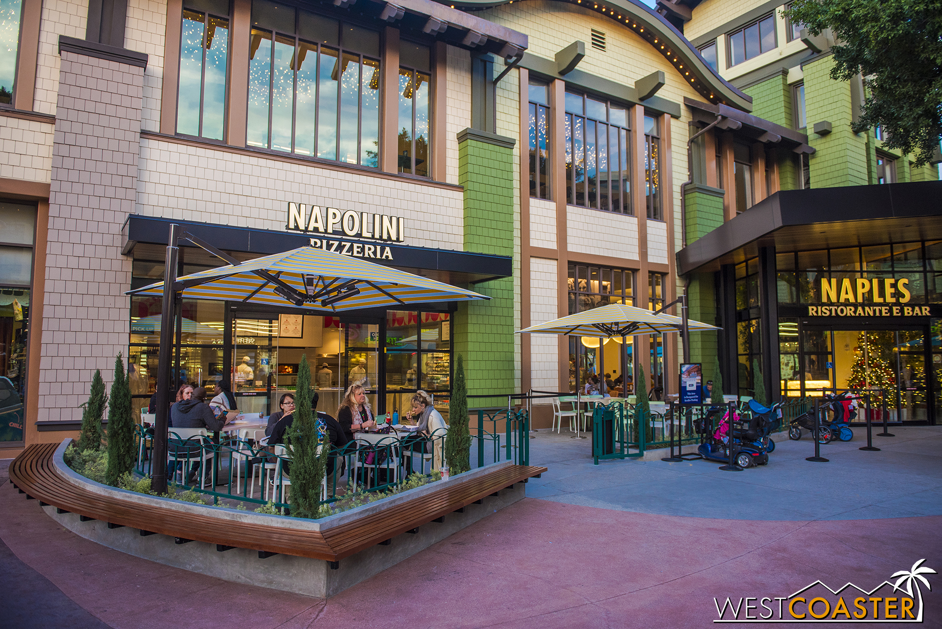 Naples has also completed its transformation.