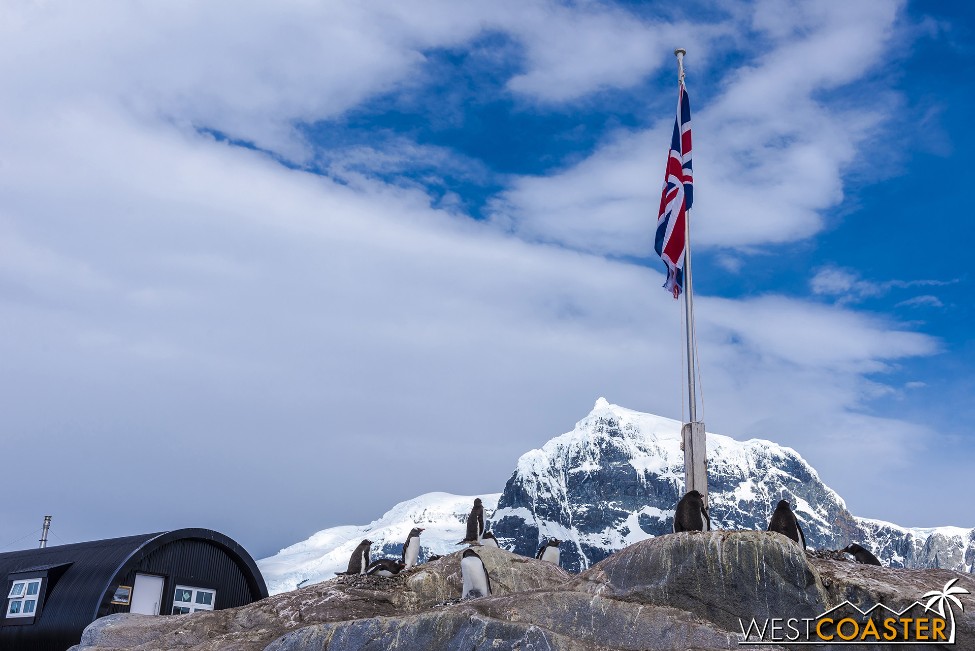 The British presence at Port Lockroy persists through today.