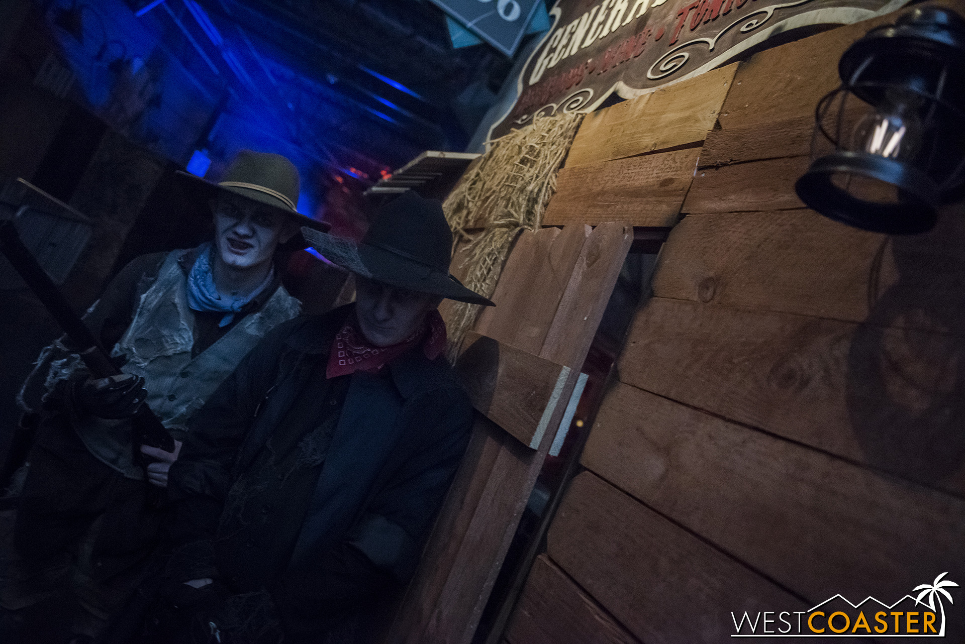 A more cohesive haunted Old West theme helped streamline the storytelling and provide a more fluid presentation.