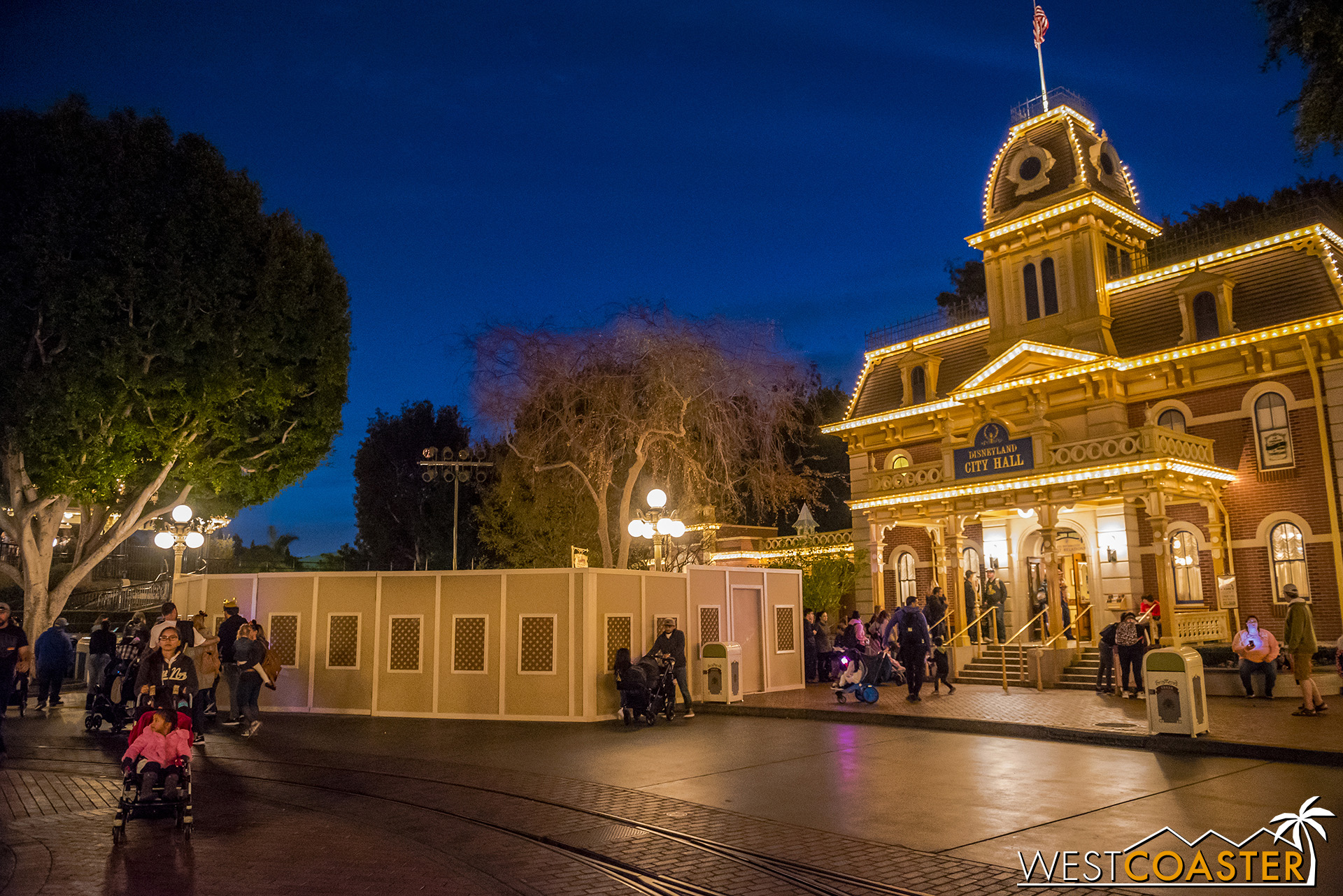 Various parts of Main Street are getting some attention.