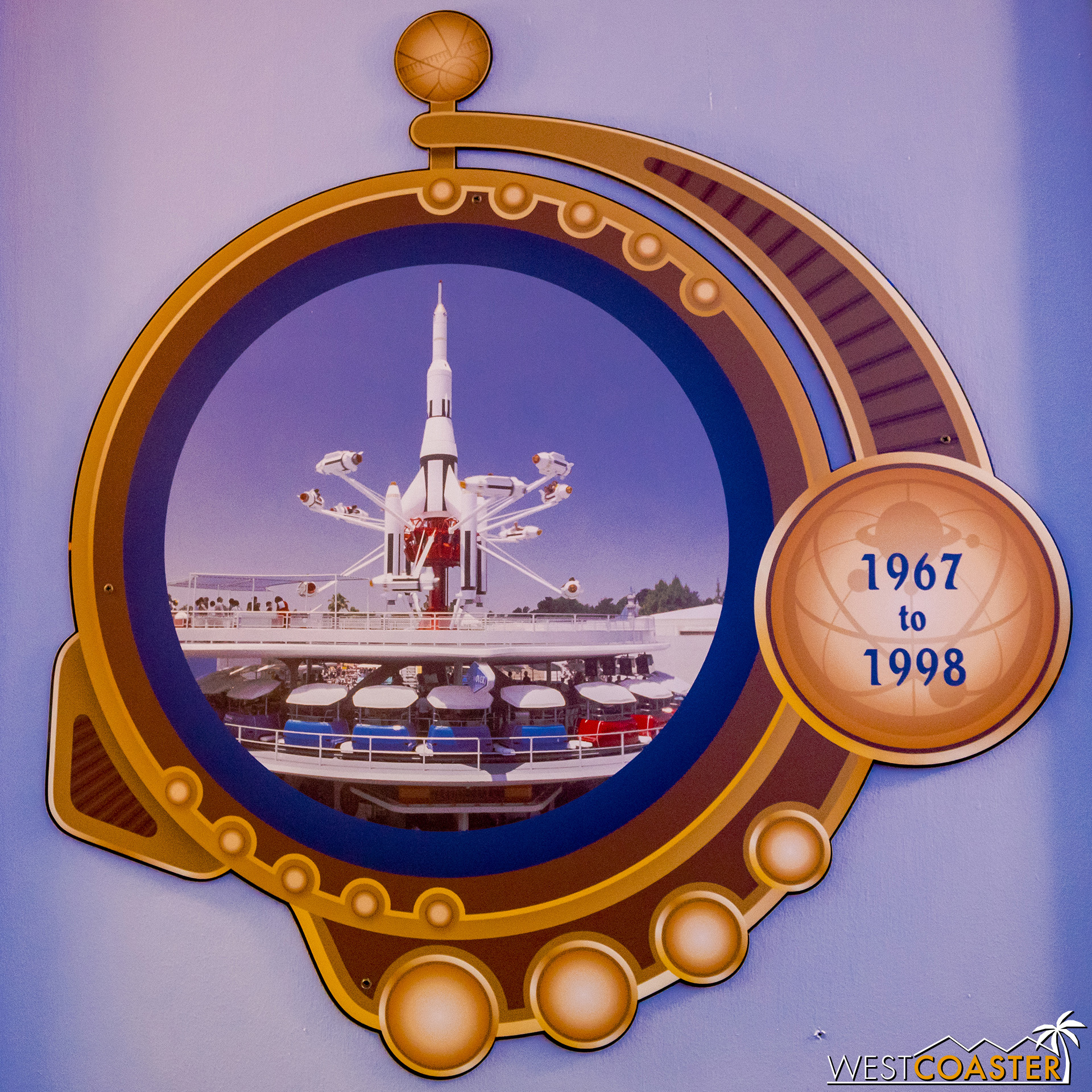 I mean, Shanghai Disneyland's Jet Packs ride isn't exactly rockets, but it kind of is.