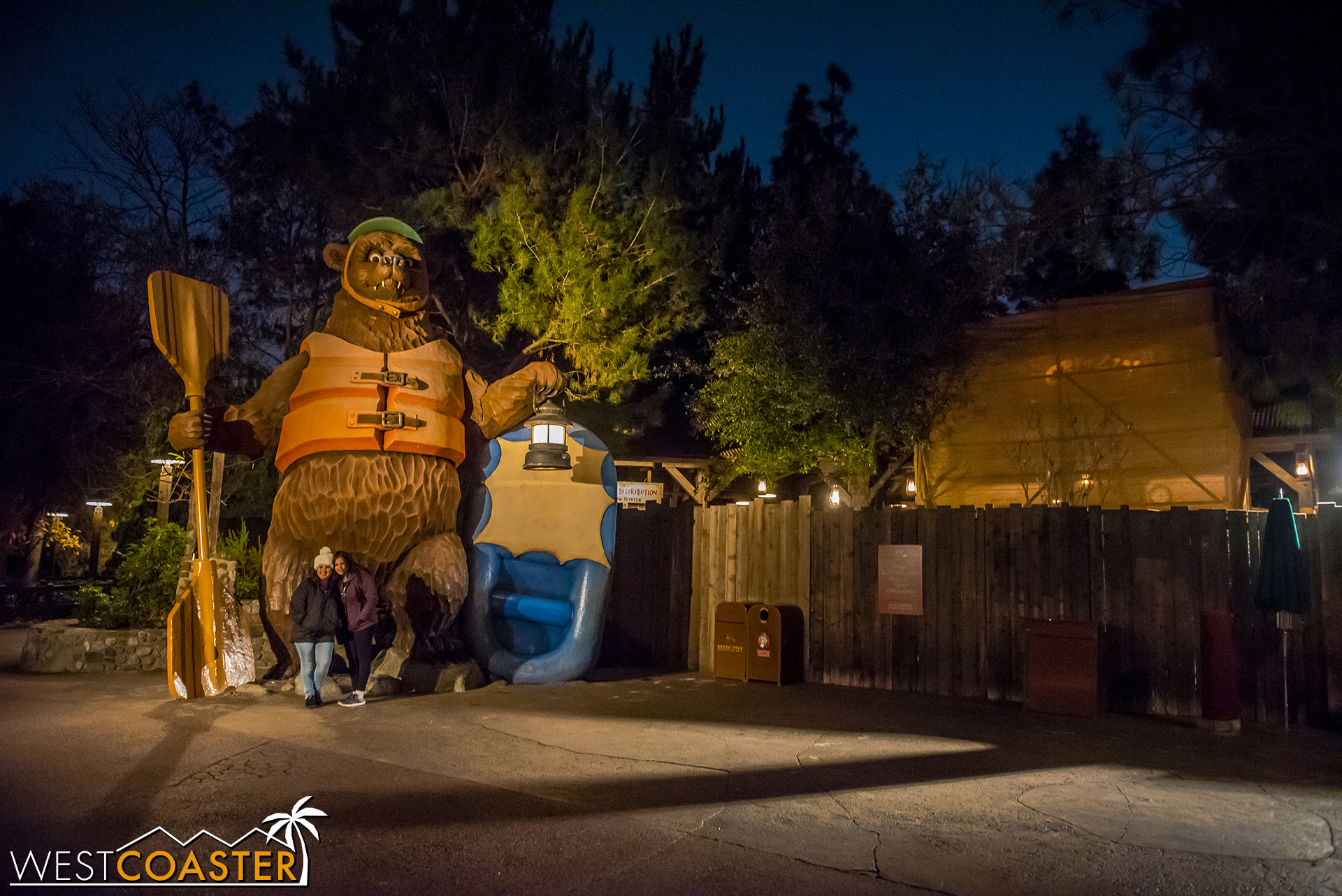Grizzly River Run is also closed.