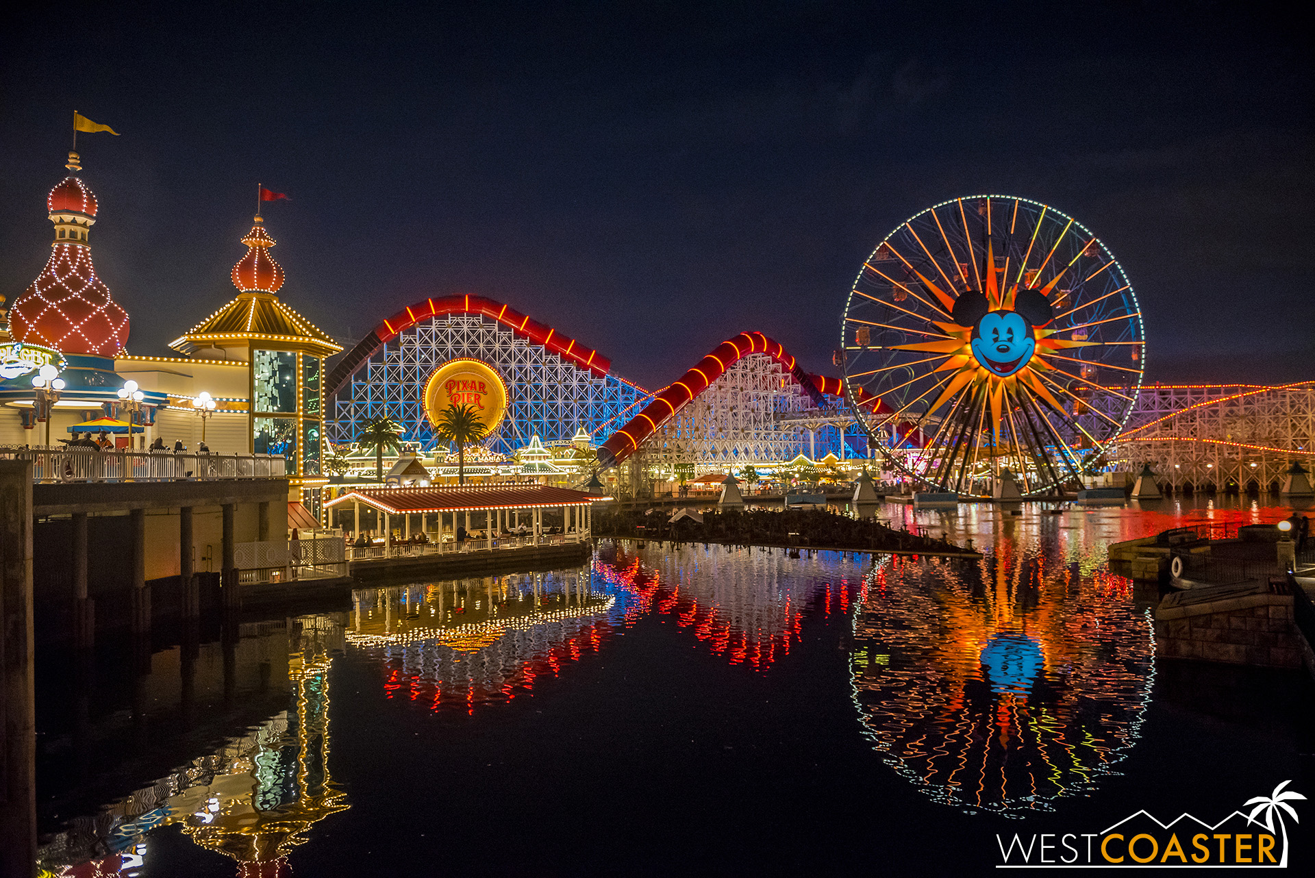 One World of Color platform was up last Friday when I stopped by.