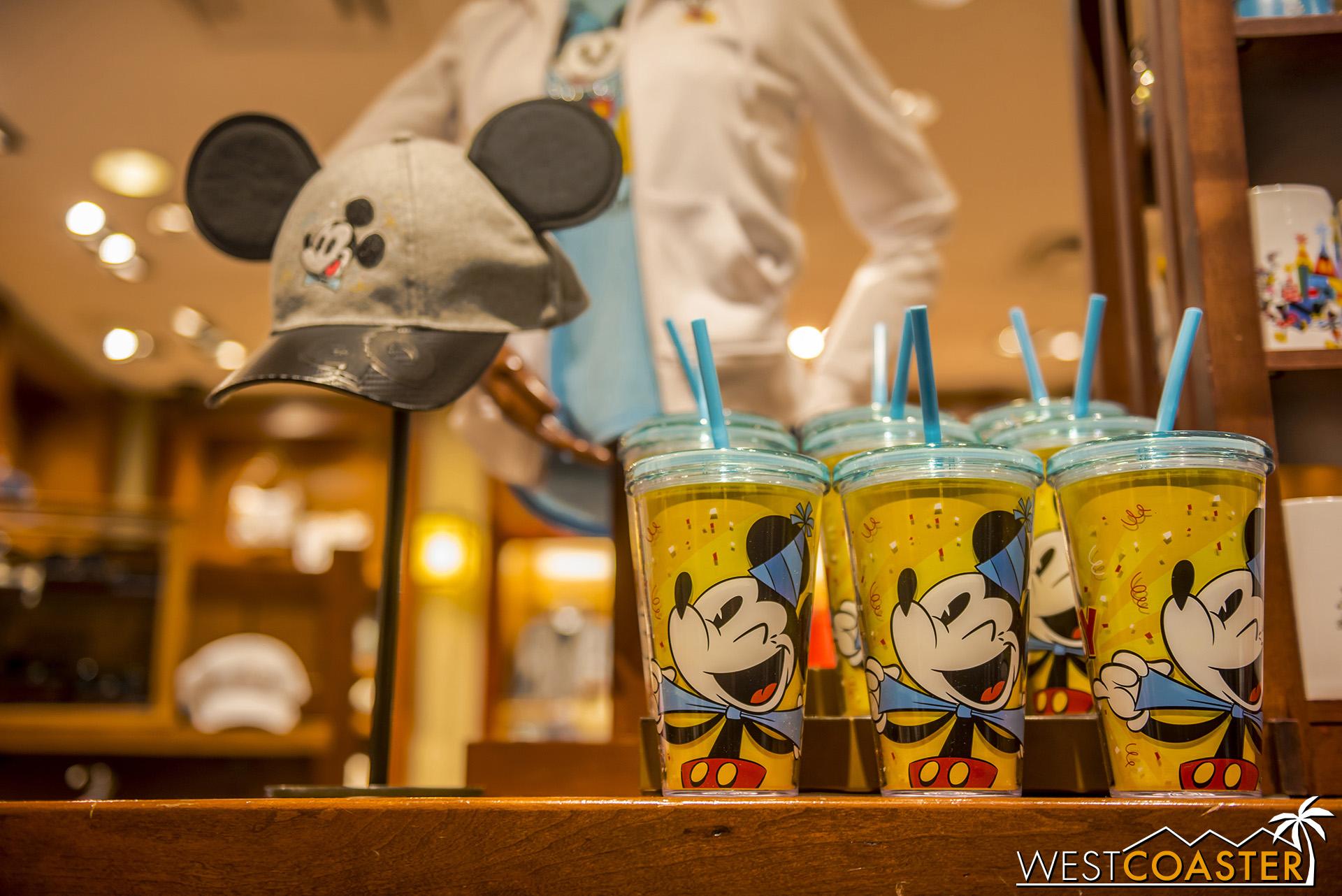 Happy Mickey is very happy.