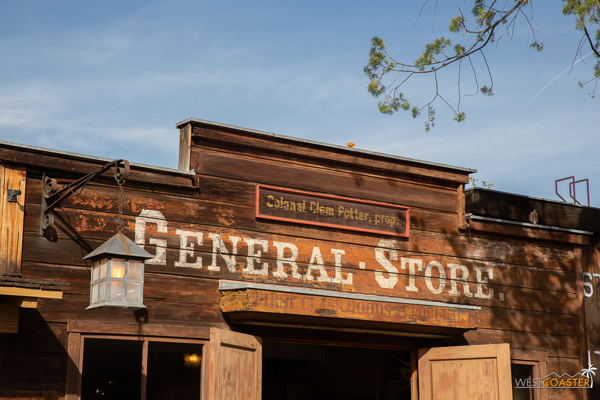 Oh, and also…we have a scoop on the upcoming Ghost Town Alive. Knott's has partnered with Universal Creative to bring a new character to life this year. Colonel Clem Potter is Harry Potter's MAGA Redneck Uncle from the west. He's a time traveling wizard who set up a general store in Buena Park shortly after the Civil War, where he lost his middle finger, so he holds his wand a little wonky. Makes his spells act all weird. Anyway, we'll have more stories coming out soon of this Clem fella, but expect a full write up from J.K. Rowling over on Pottermore soon.