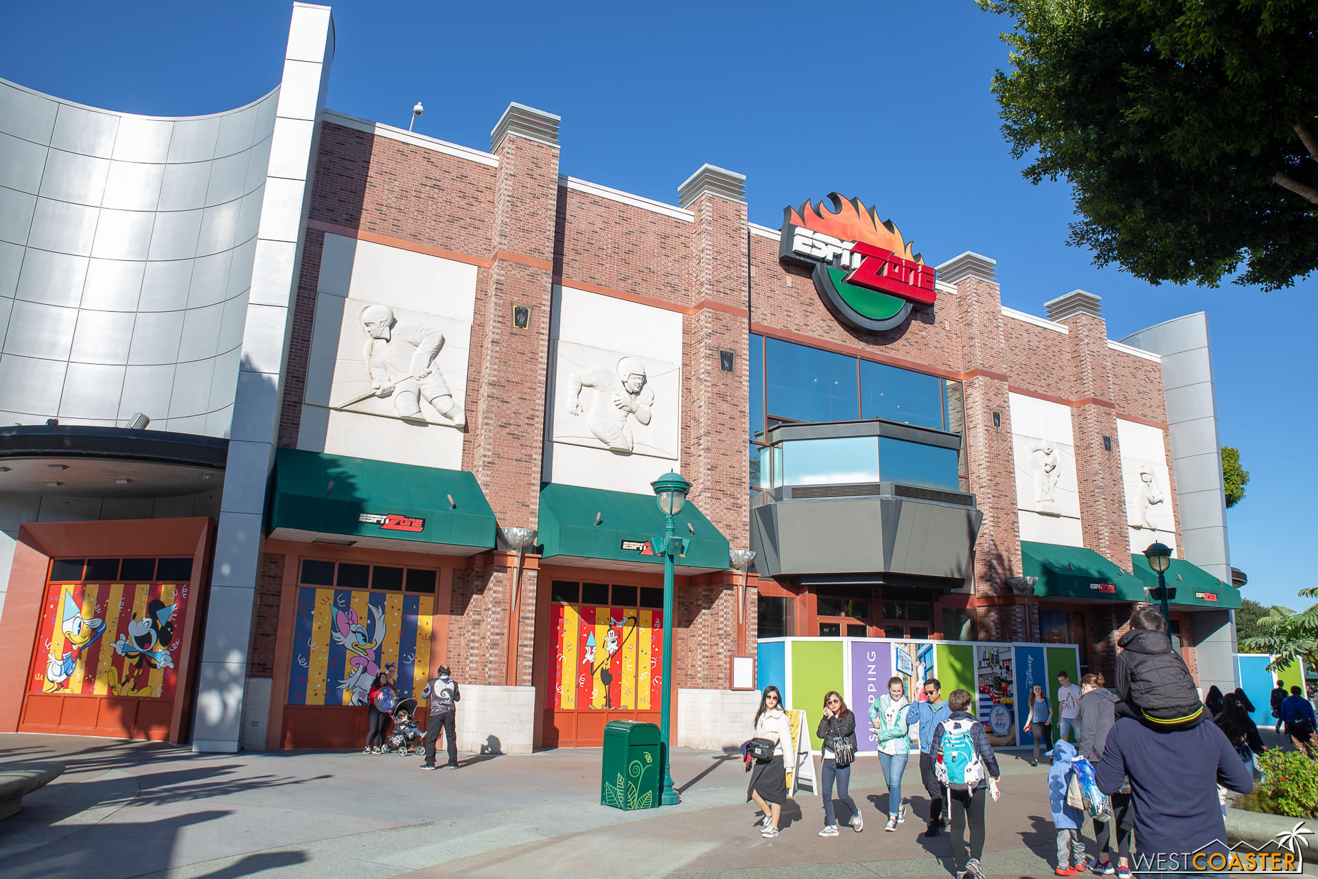 """ESPN Zone is soon to be host of a popup instagram  Disney exhibit.  """"Pop-Up Disney!"""" will debut soon, according to the Disney Parks Blog."""