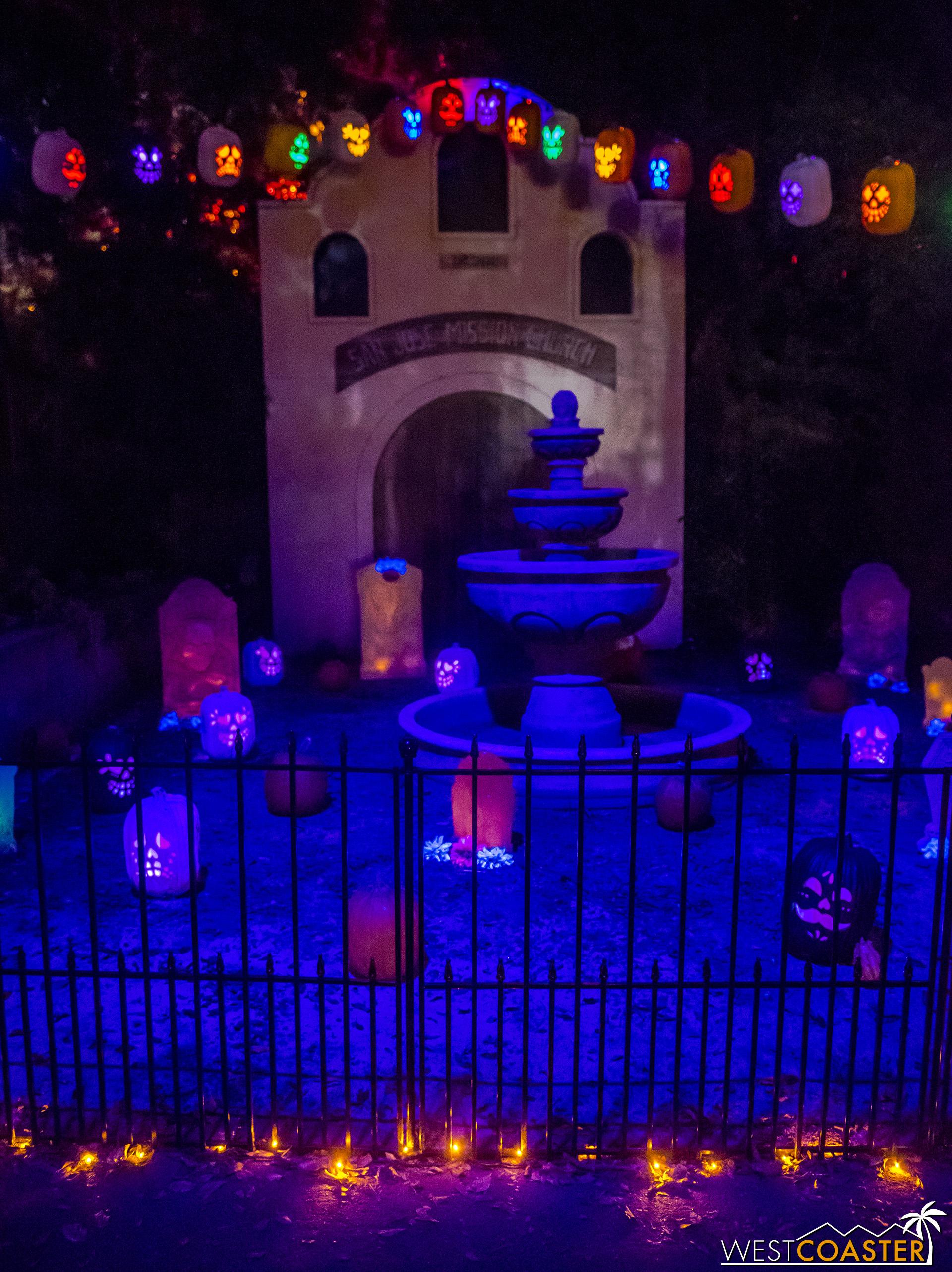 Maravilla Lane provided a fanciful environment celebrating Día de los Muertos.