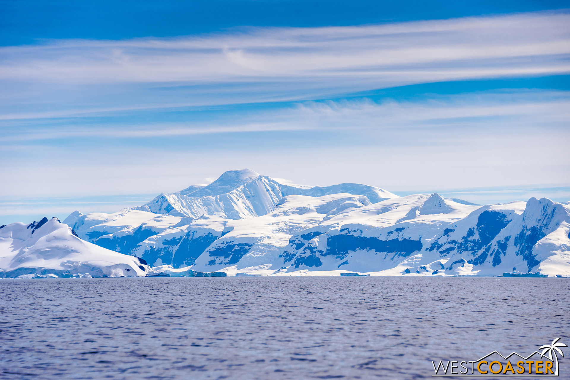 One last look at Antarctica from Wilhelmina Bay.
