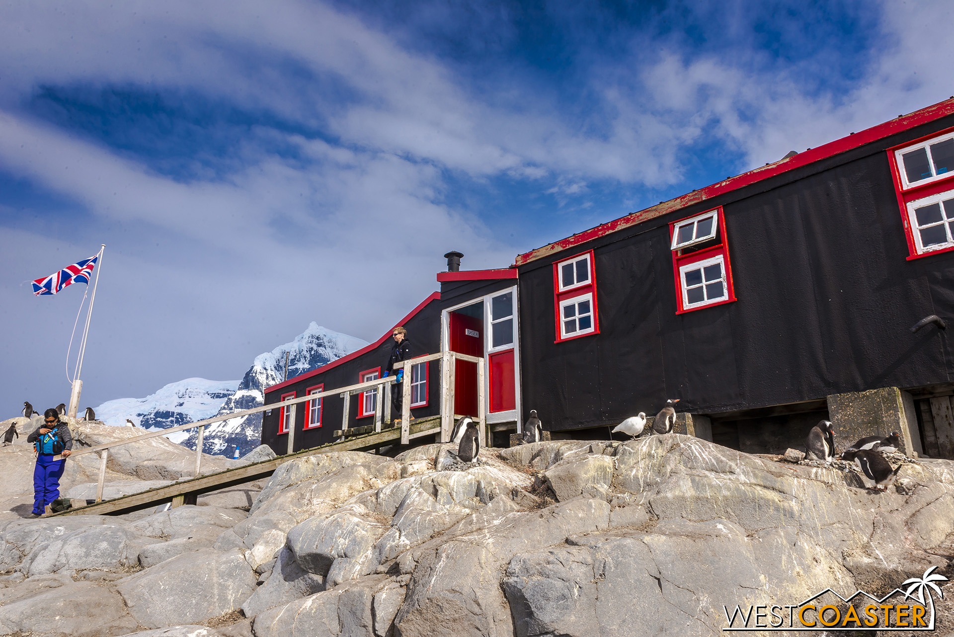The museum at Port Lockroy.