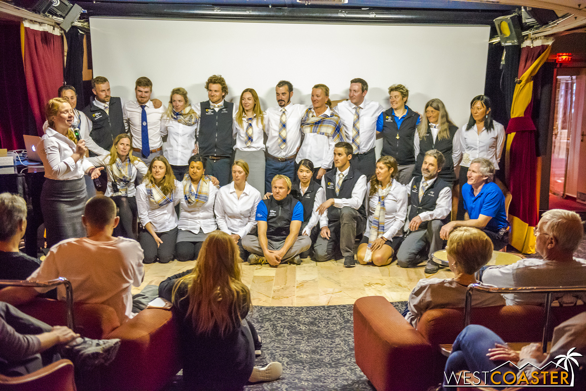 Our fantastic Quark Expeditions guides and excursion leaders.