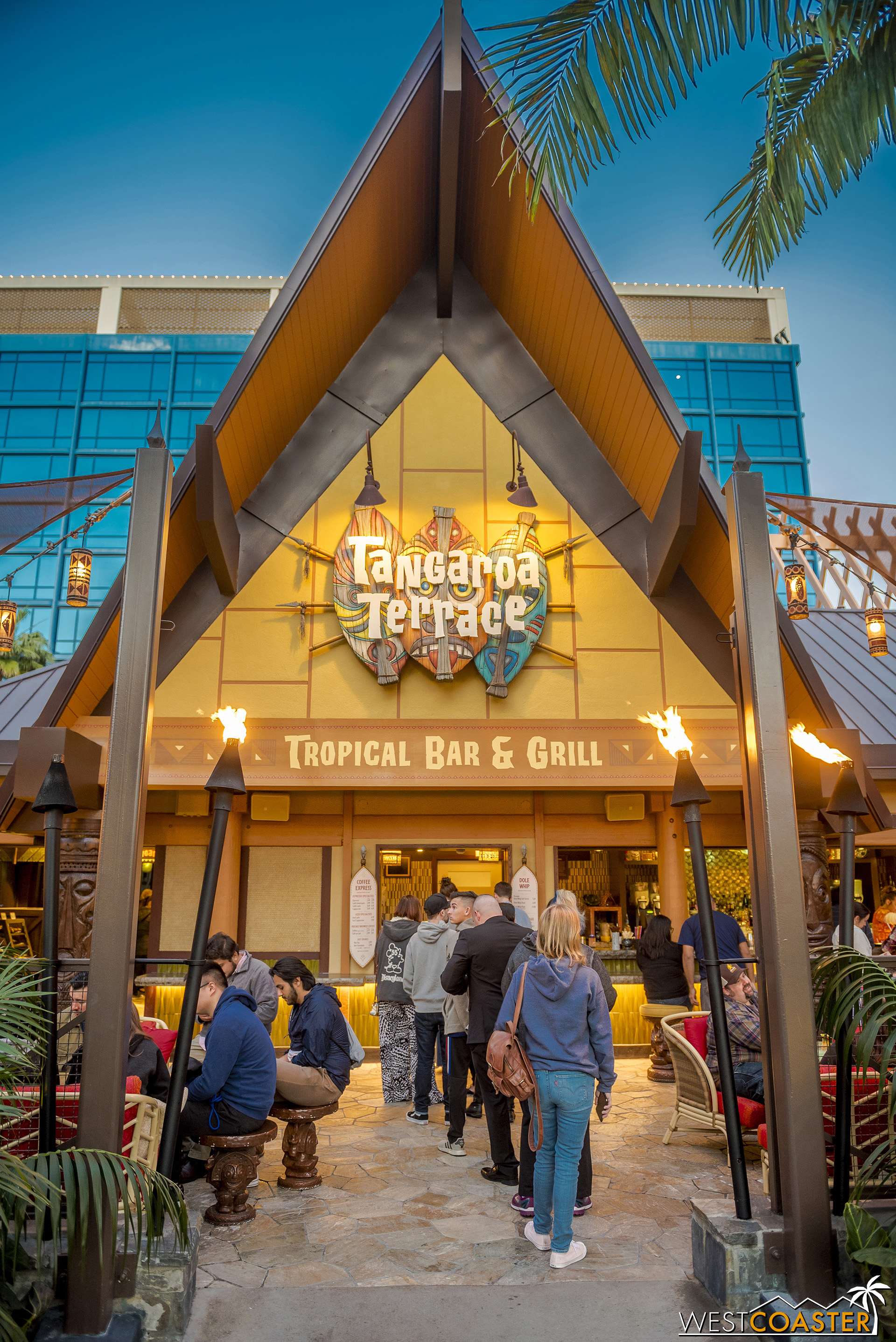 Tangaroa Terrace has attracted some good crowds since its reopening early last month.