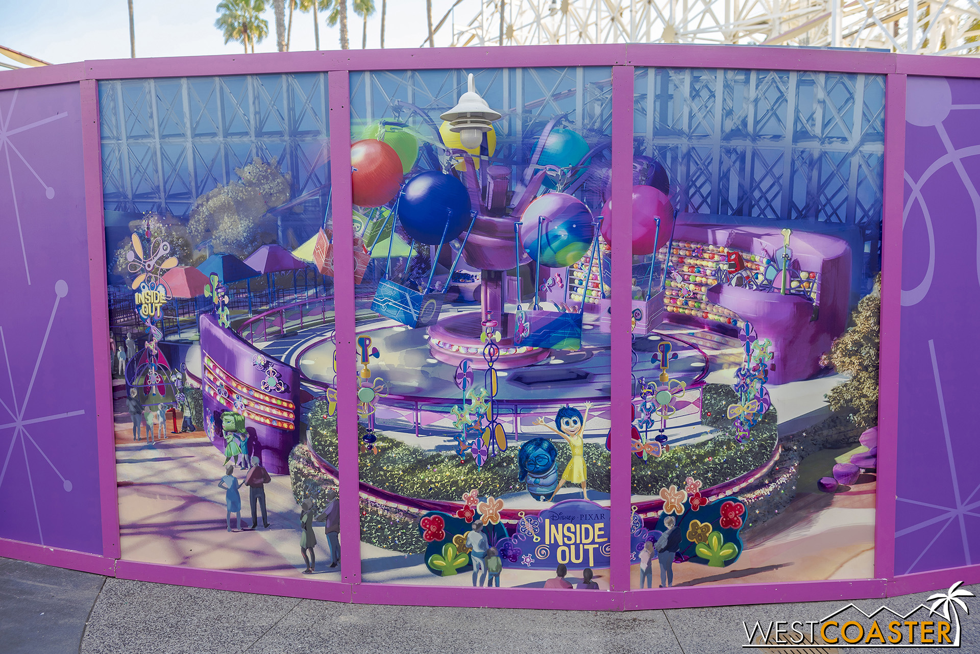 They've also added an enlargement of the rendering of the ride.