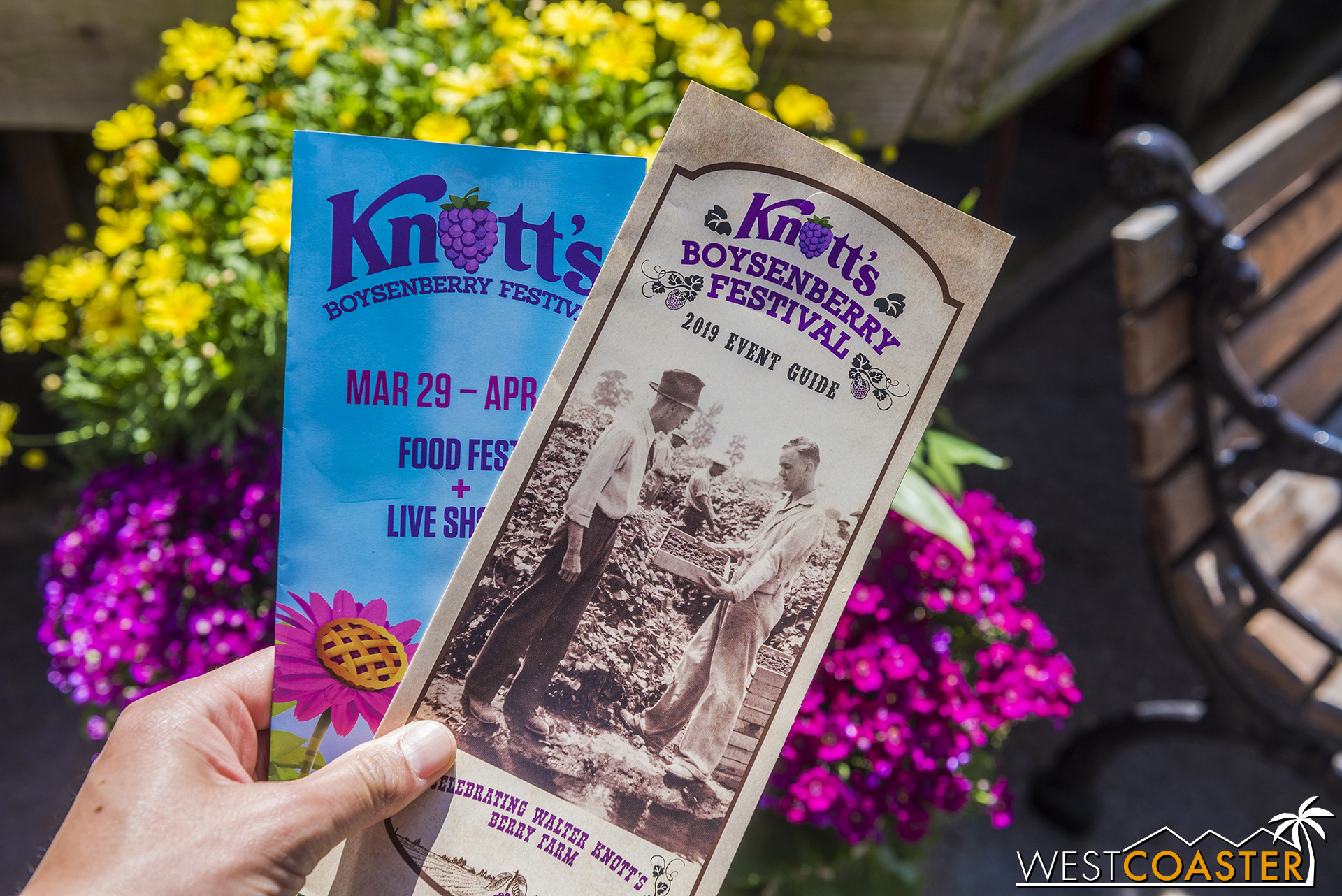 The Boysenberry Festival is back at Knott's!