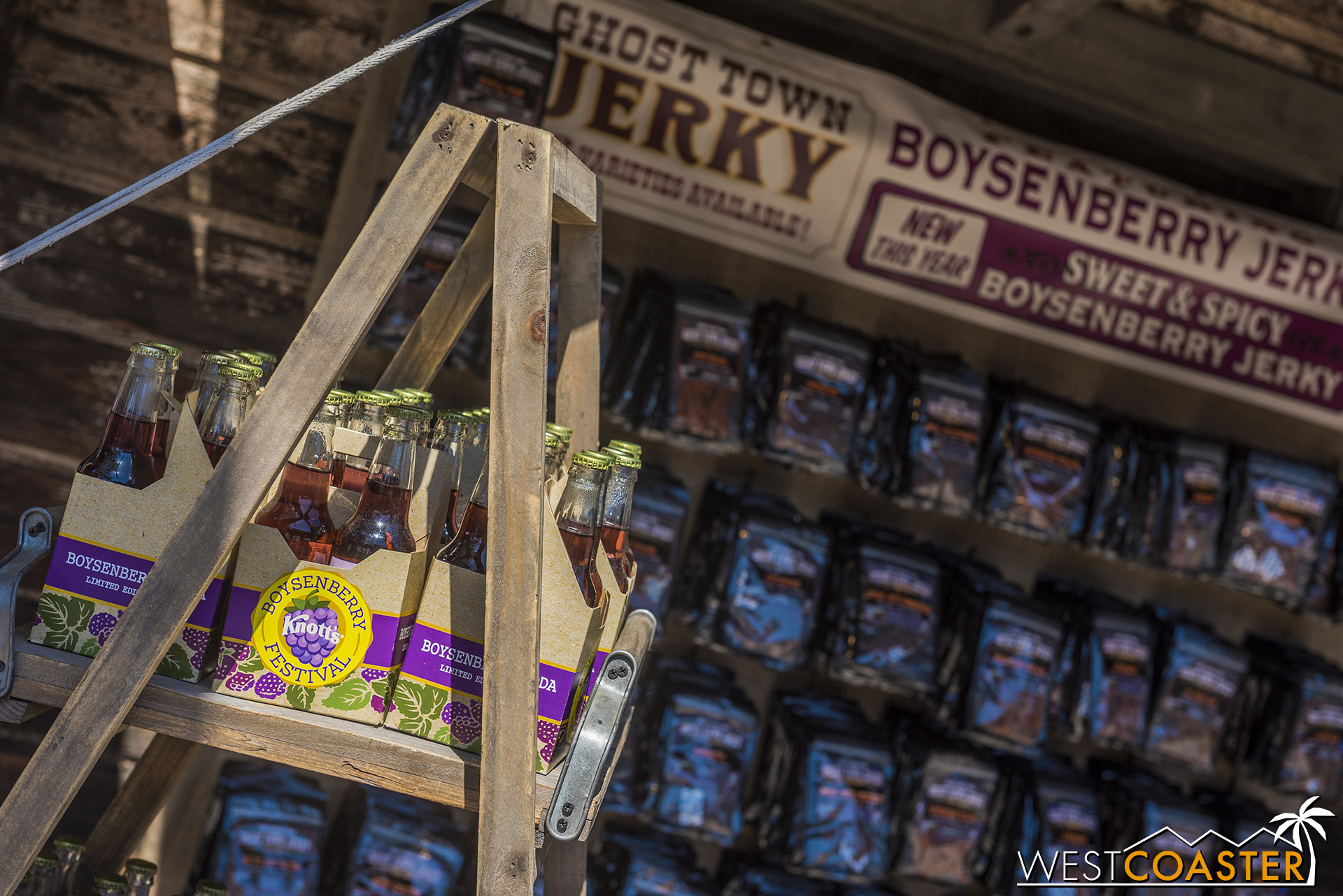 There are also a ton of commercial boysenberry products, like jerky and soda.
