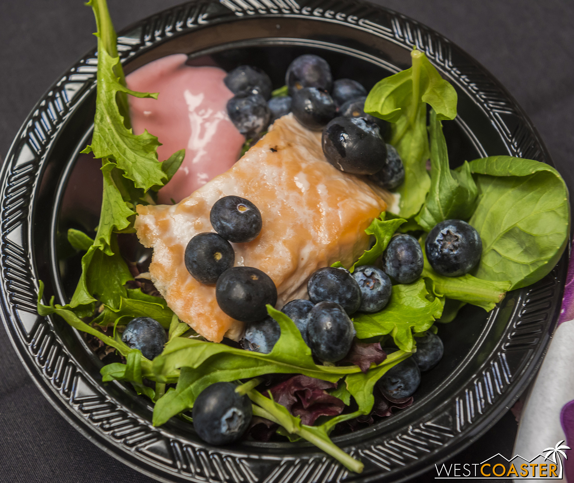 Still love this salmon and salad dish.