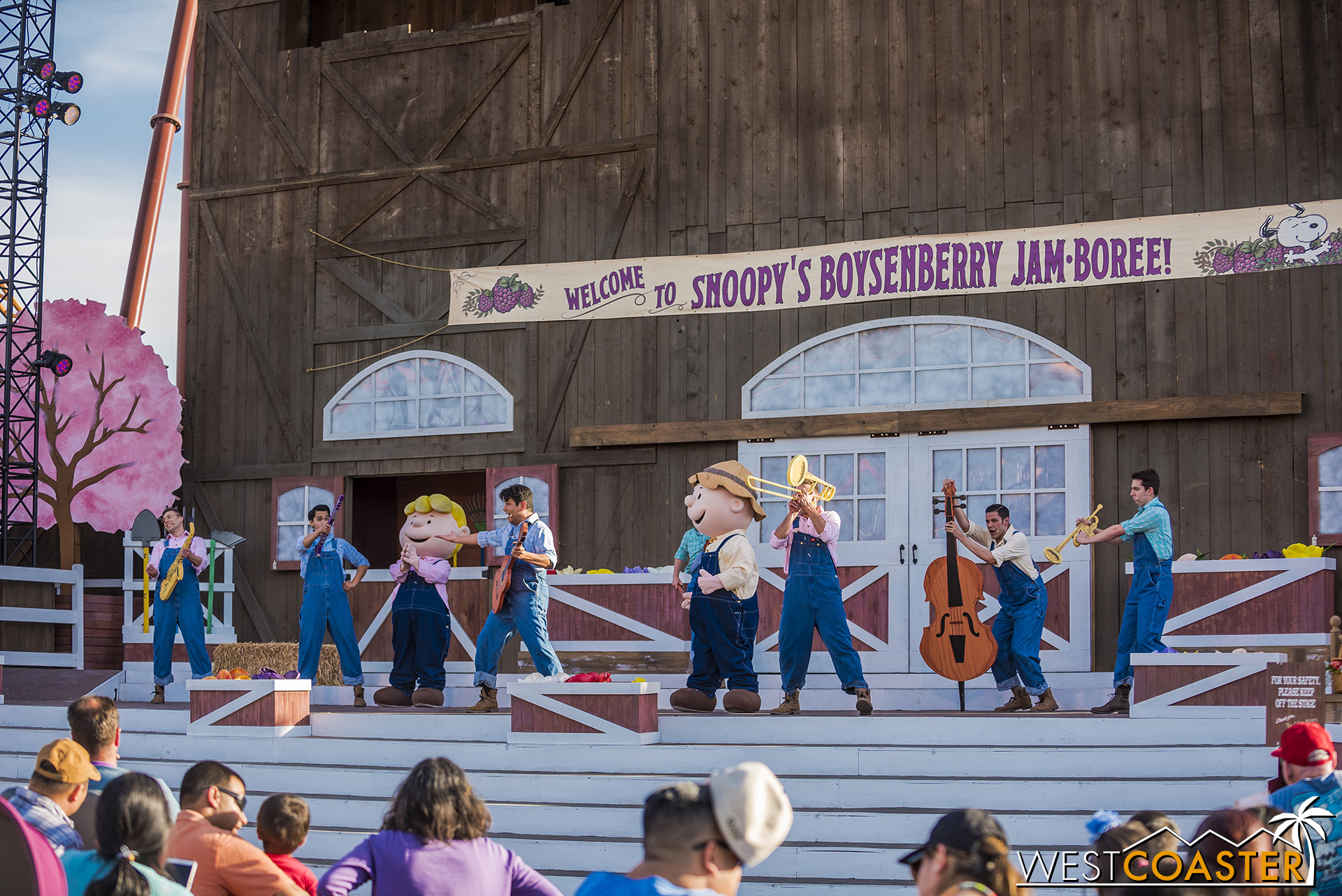 Snoopy's Boysenberry Jam-boree is back with another springtime musical!