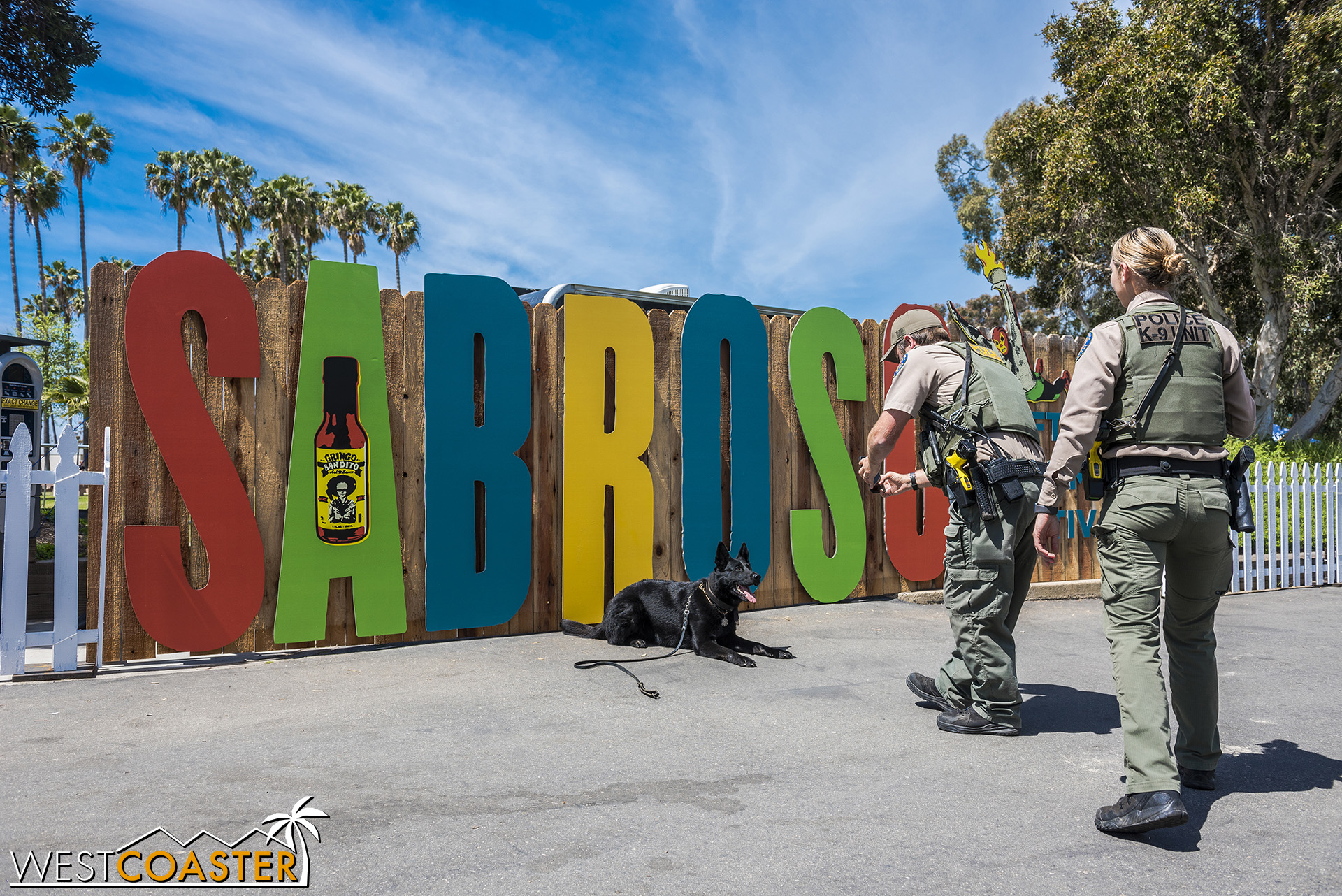 The place to be: Sabroso Festival—even for K9 puppers!
