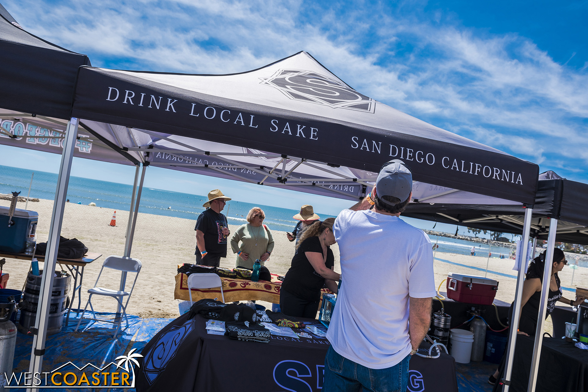 Wow, a craft sake booth?  Cool.