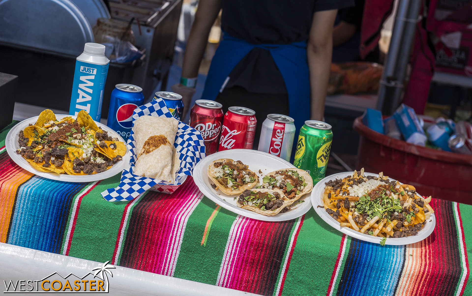 A taco festival must, of course, have tacos.