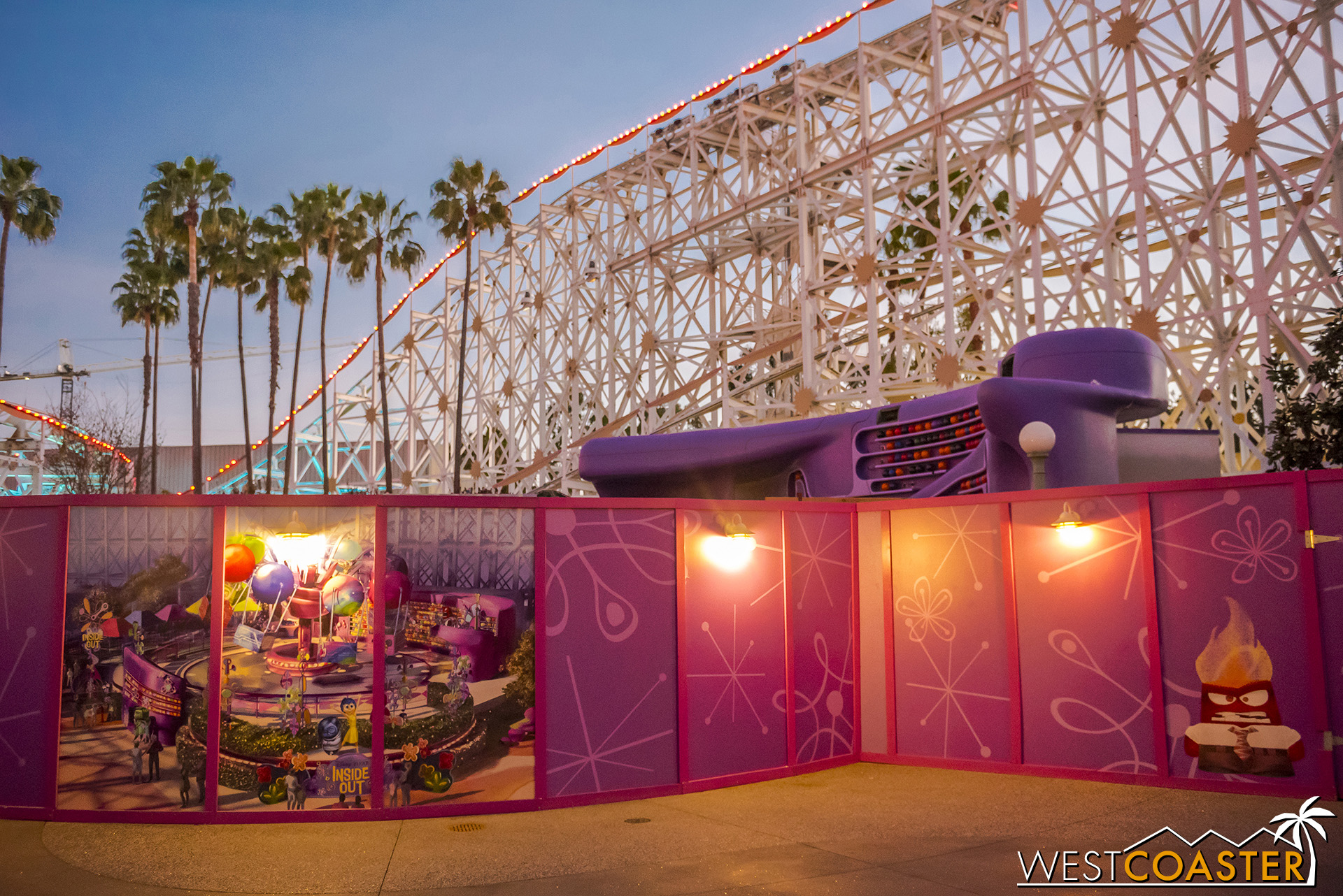 Finally! Some progress at the Inside Out ride!