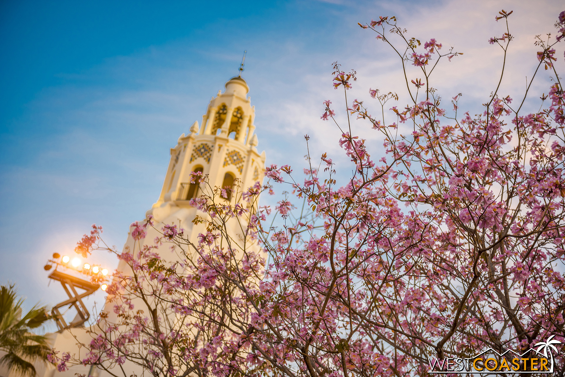 The Carthay Circle Restaurant in the spring.