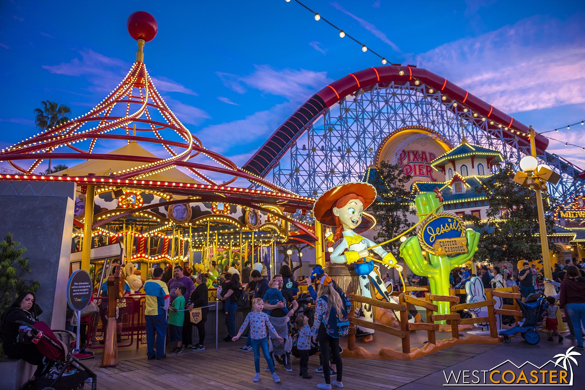 Jessie's Critter Carousel is open!