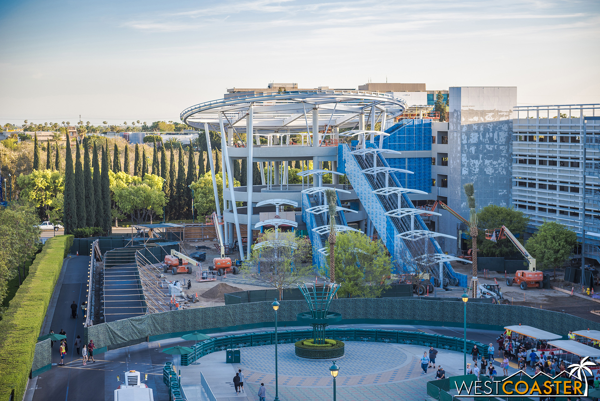 Welcome to the new Pixar Pals parking structure!