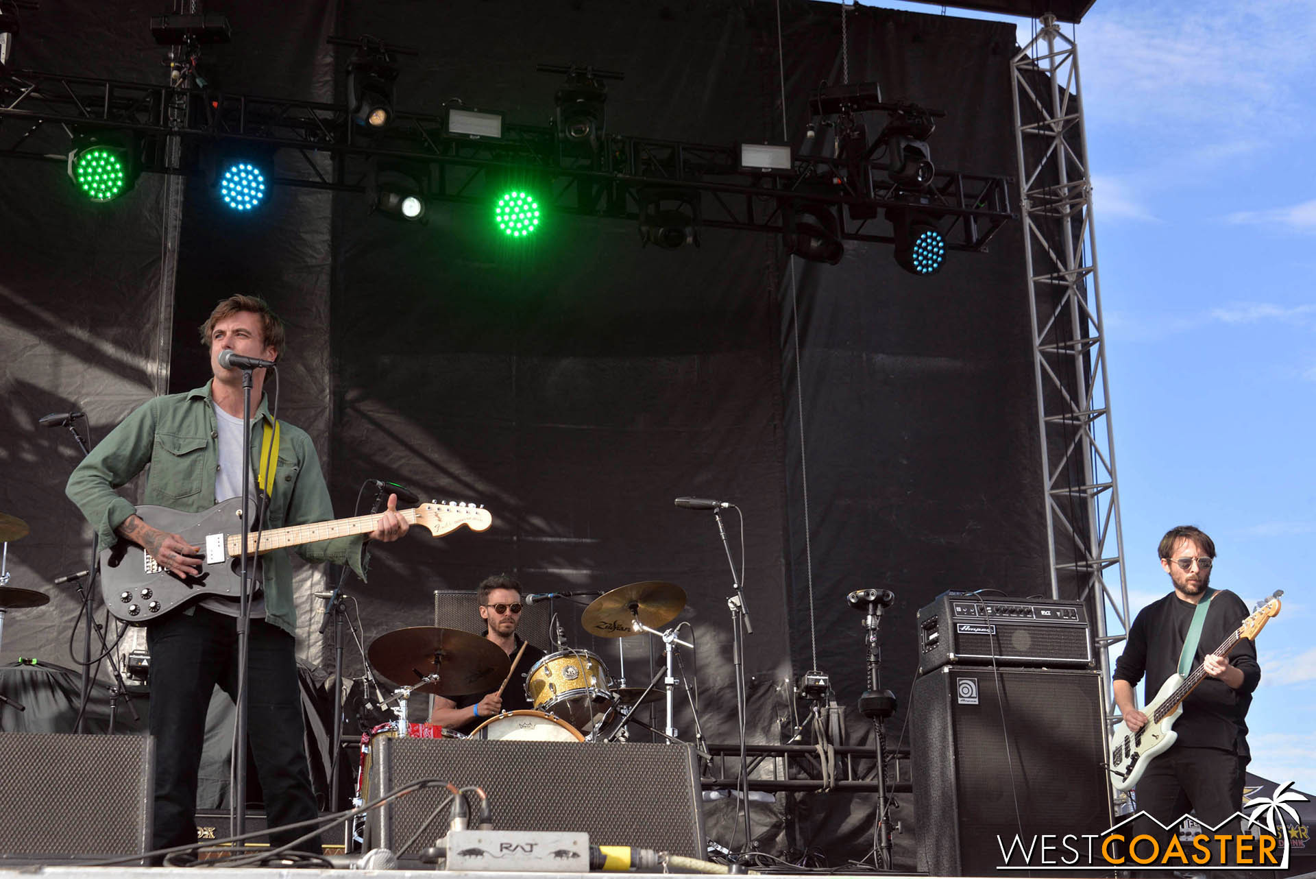 Anthony Green at Back to the Beach.