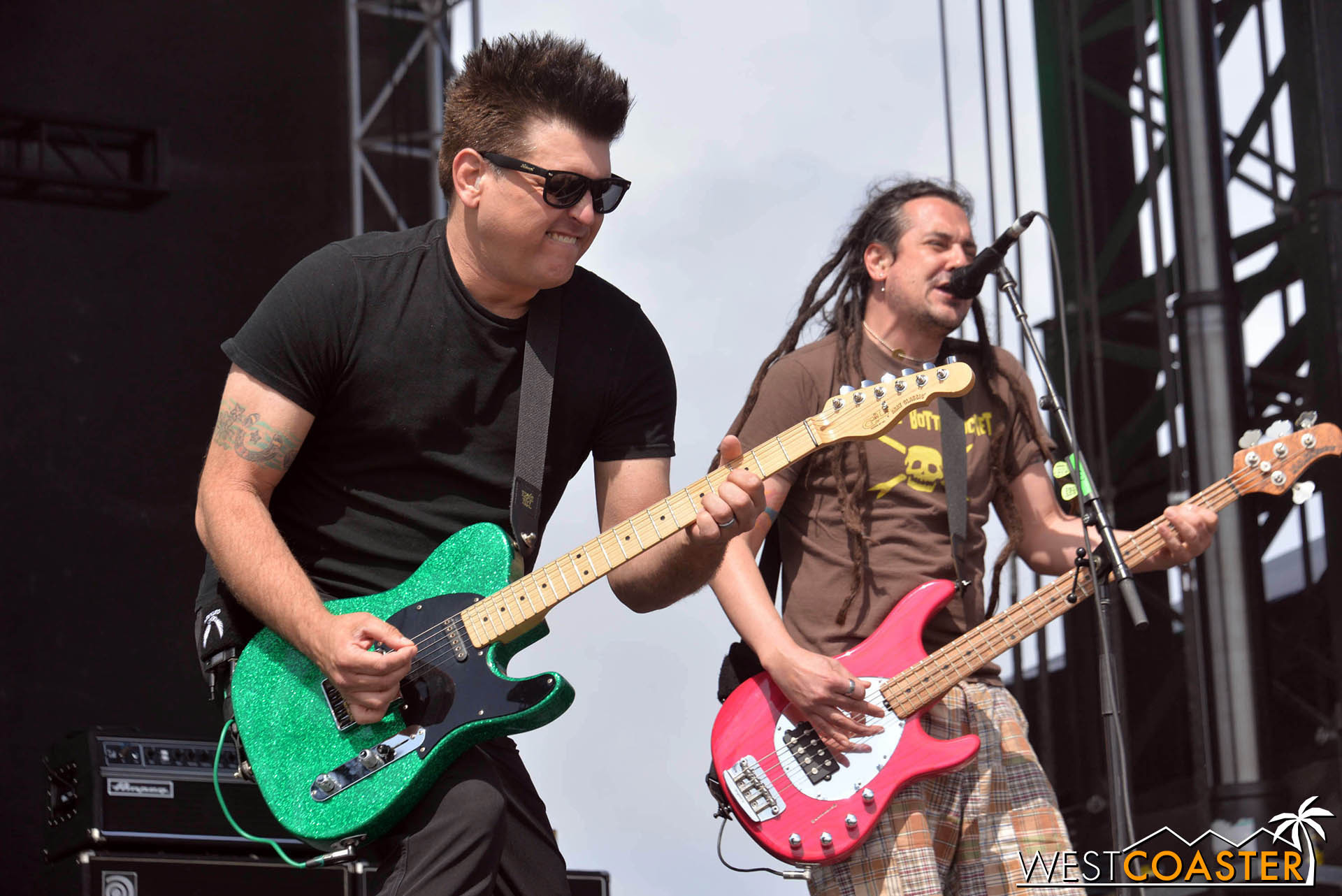 Less than Jake, a highlight at Back to the Beach's Sunday lineup.