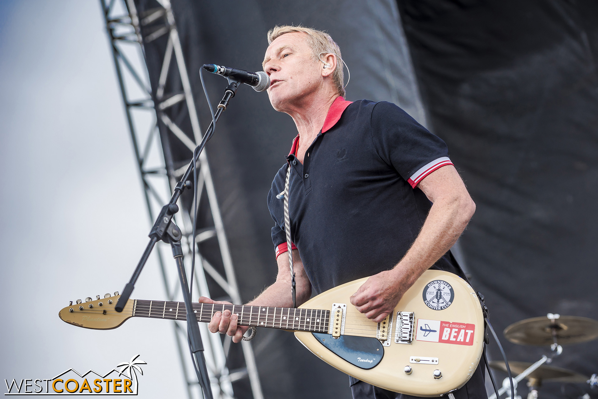 Guitarist and vocalist Dave Wakeling of The English Beat.