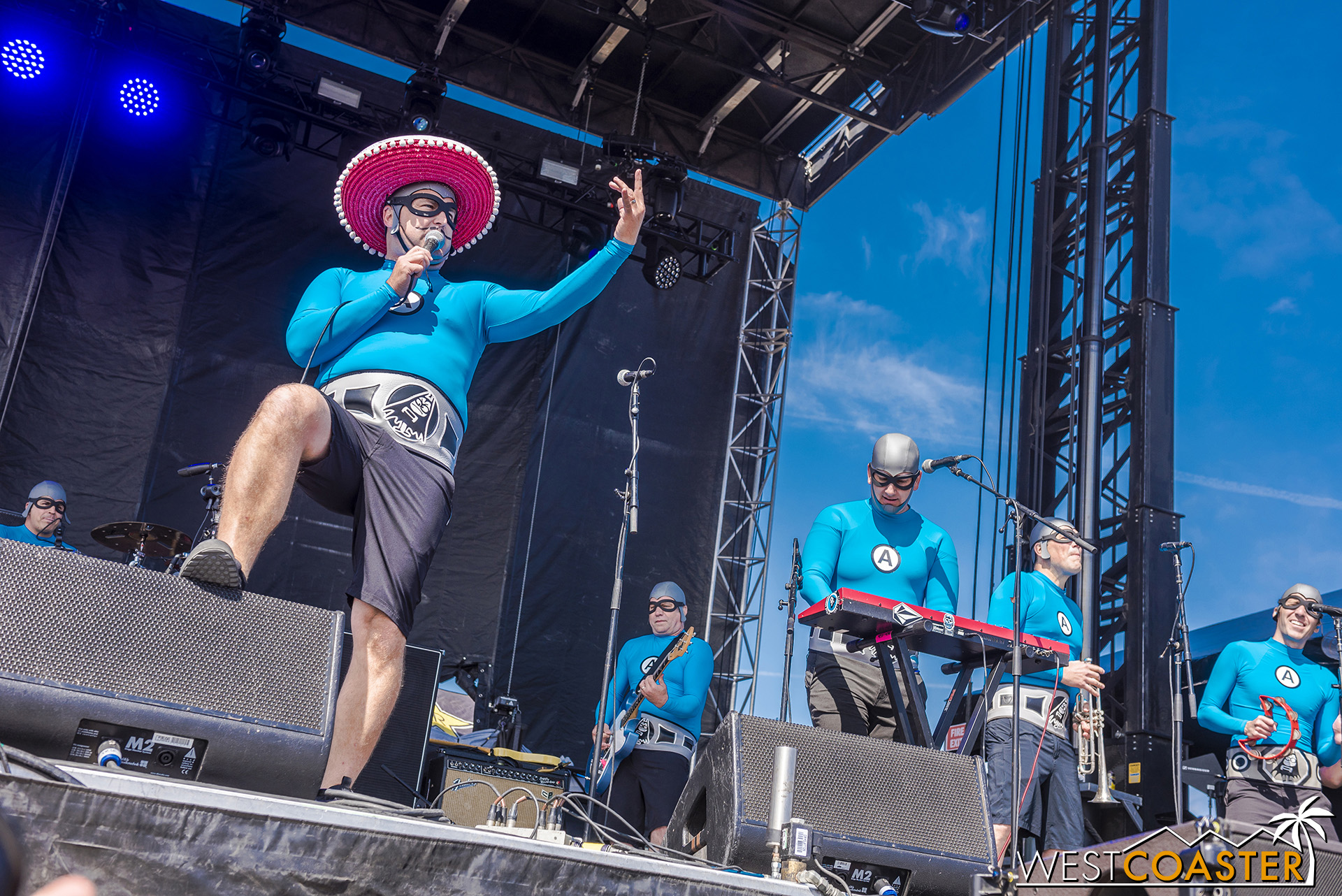 Time to get silly and fun with the Aquabats!