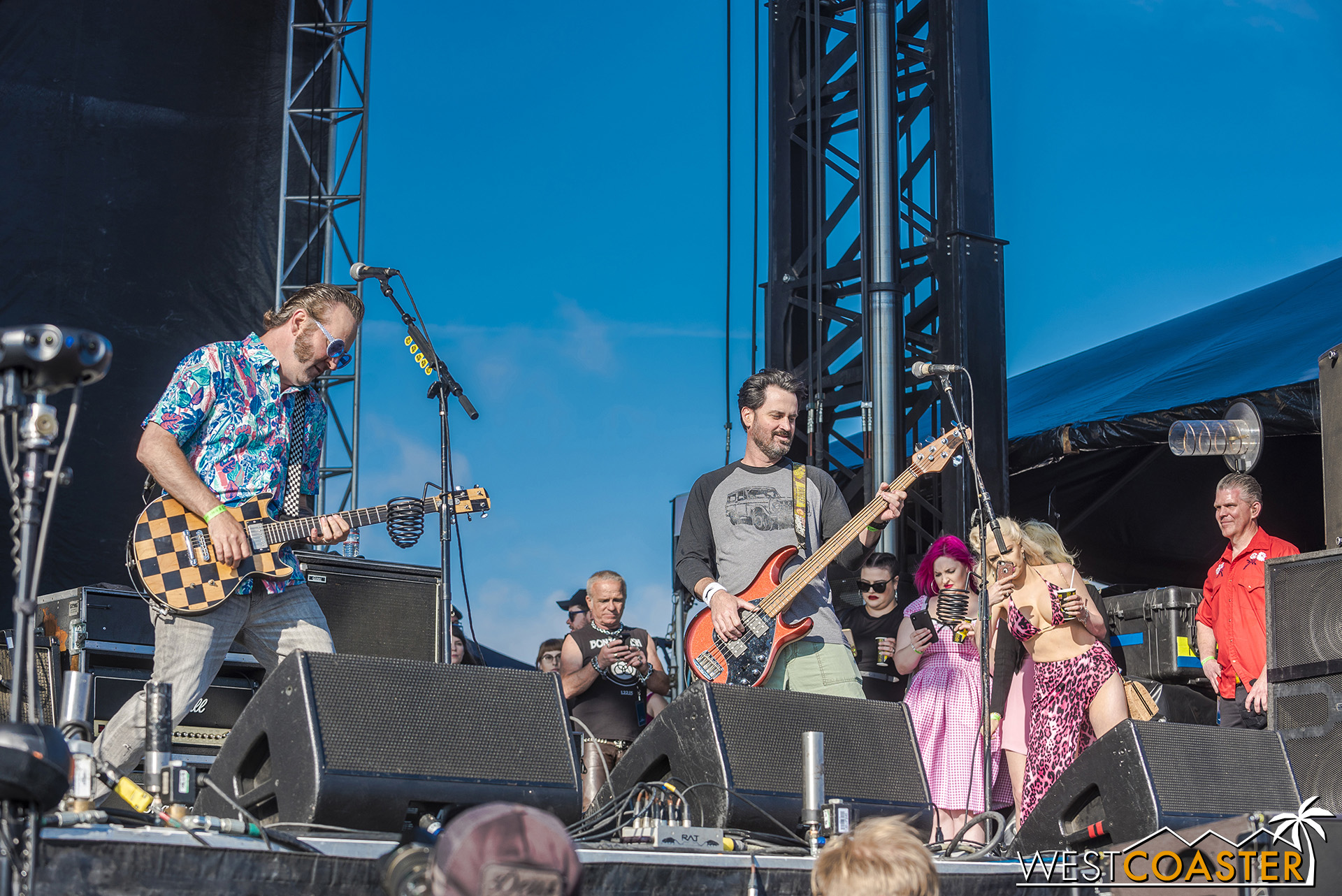 Reel Big Fish rocks the stage at Back to the Beach.