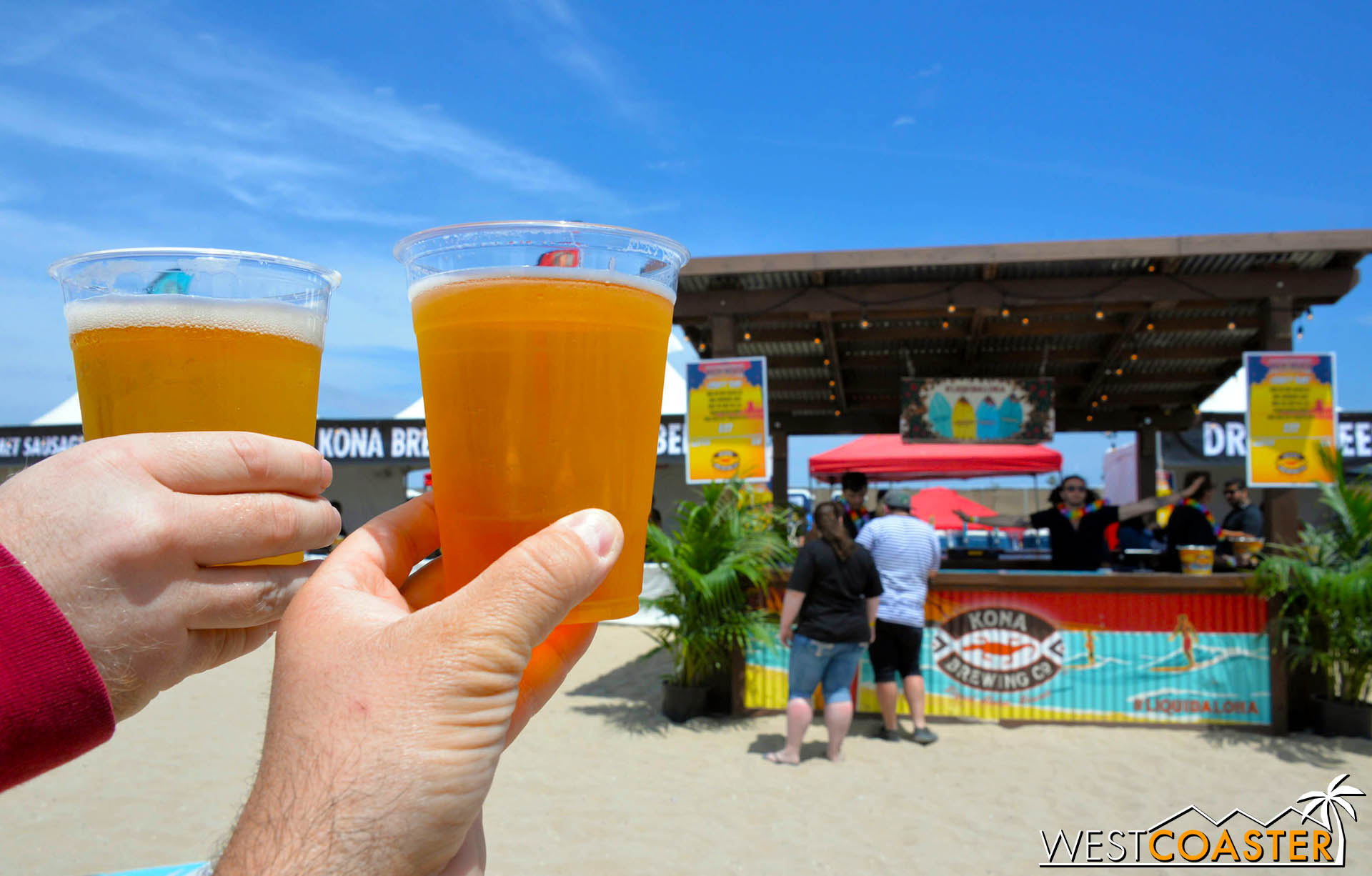 Cheers to Back to the Beach! Despite the Saturday mess, you were a fantastic festival!