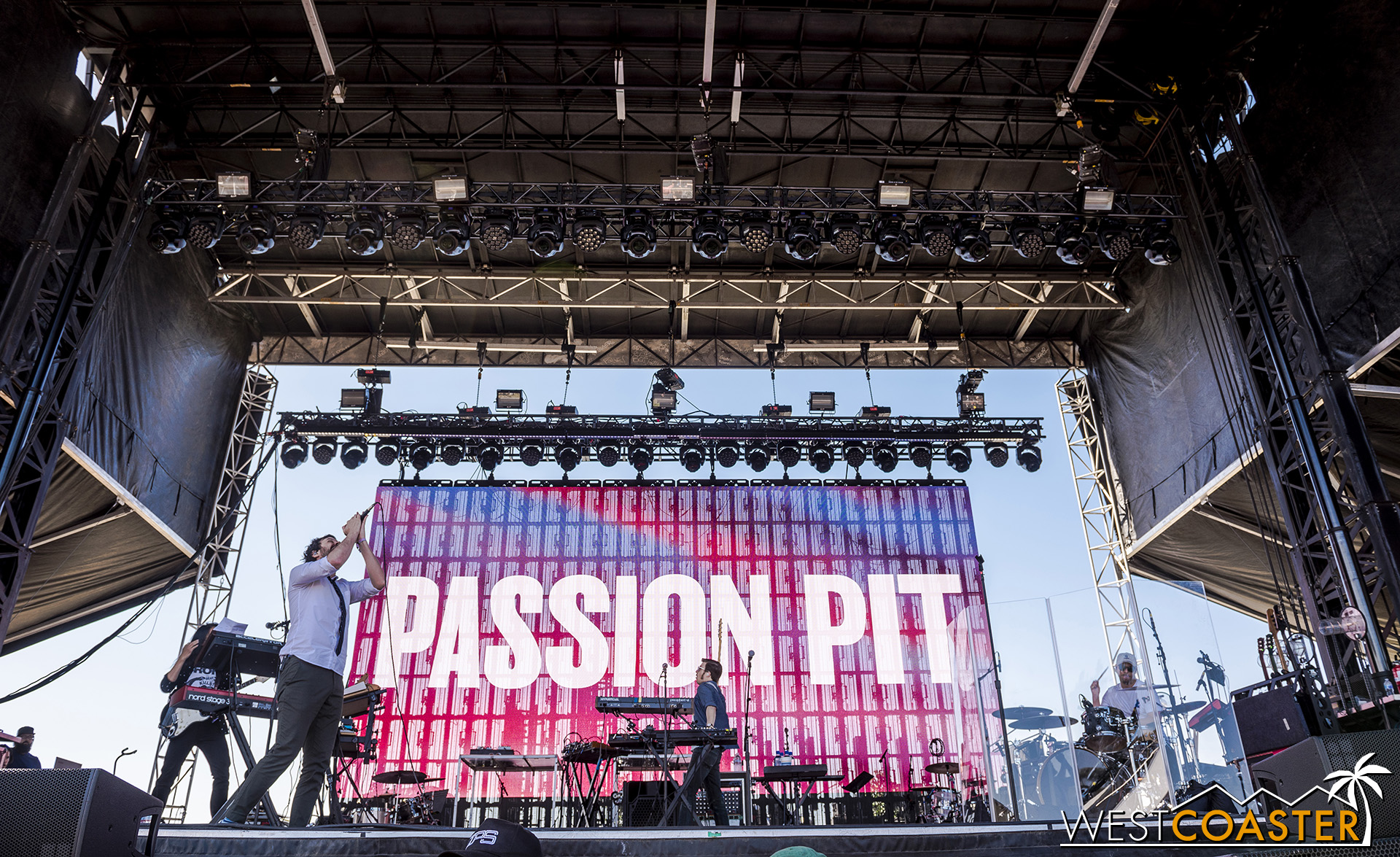 Passion Pit, at Just Like Heaven Festival.