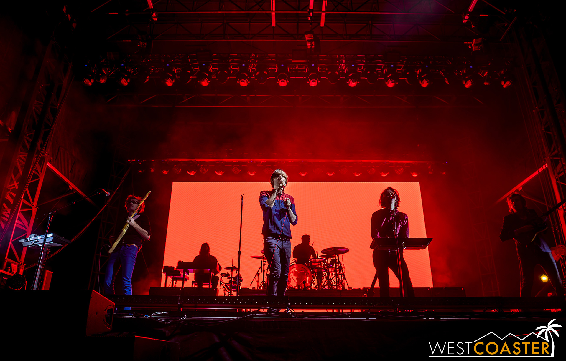 Phoenix headlines the night at Just Like Heaven festival.