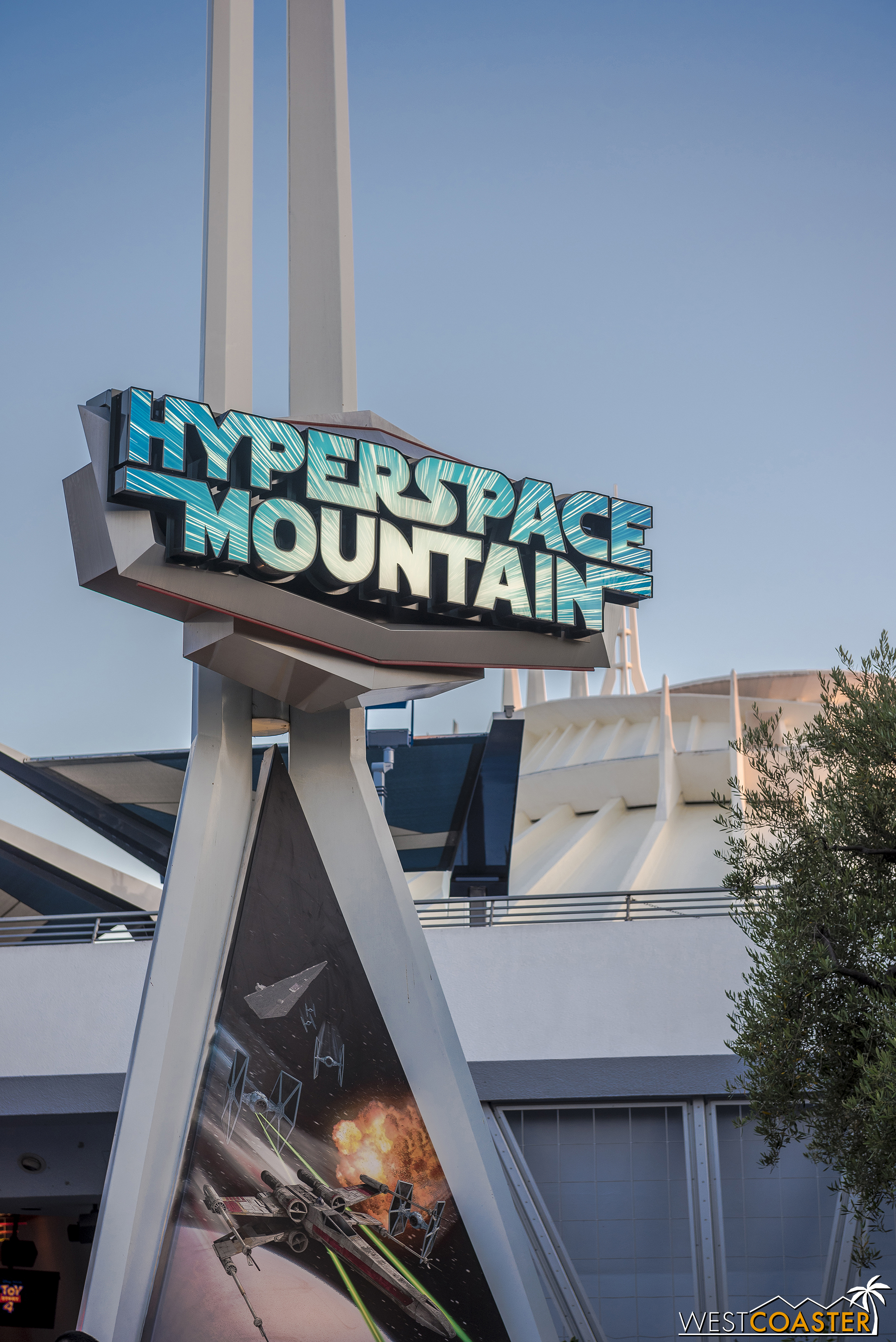 And Space Mountain is now hyper like a little kid.