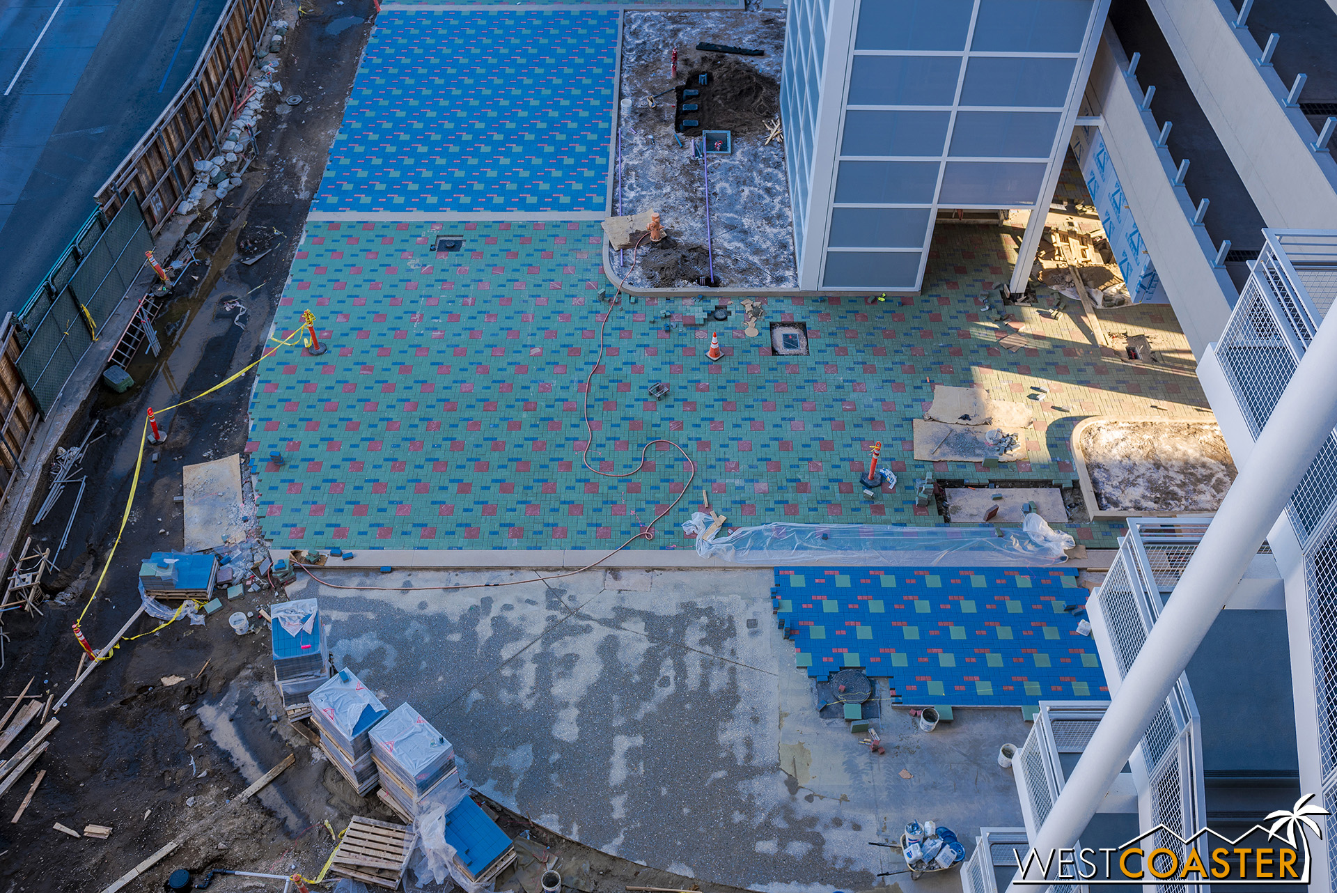 Still going on the pavers…