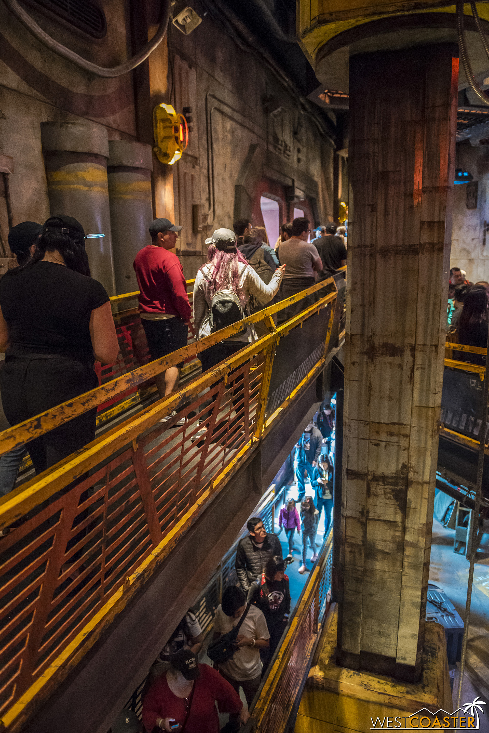 The entire line of Smuggler's Run is wheelchair accessible, which is nice, because disabled people can experience the same sights and sounds as everyone else.